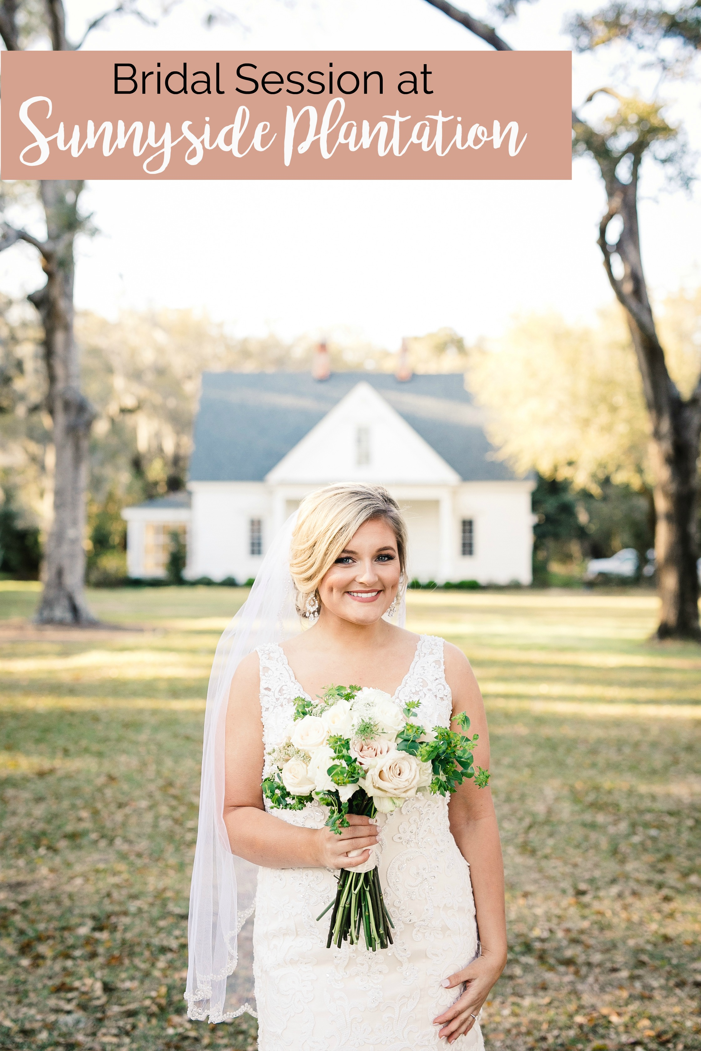 Cameron's Bridal Portrait Session at Sunnyside Plantation, Murrells Inlet, South Carolina | Palmetto State Weddings | Images by Heidi | where to get married in Myrtle Beach