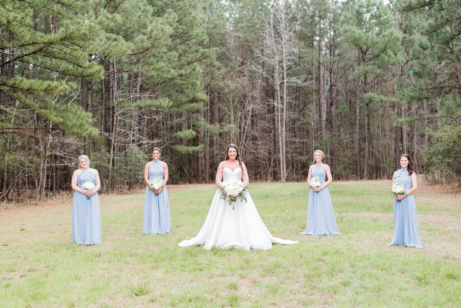 Hailey + Hunter: Southern Church Wedding in Conway, South Carolina | Palmetto State Weddings