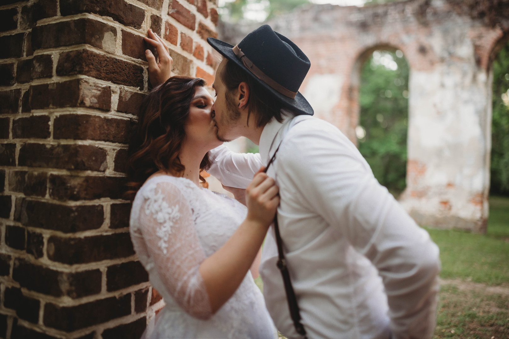 Romantic Ruins: Old Sheldon Church Wedding Styled Shoot | Palmetto State Weddings