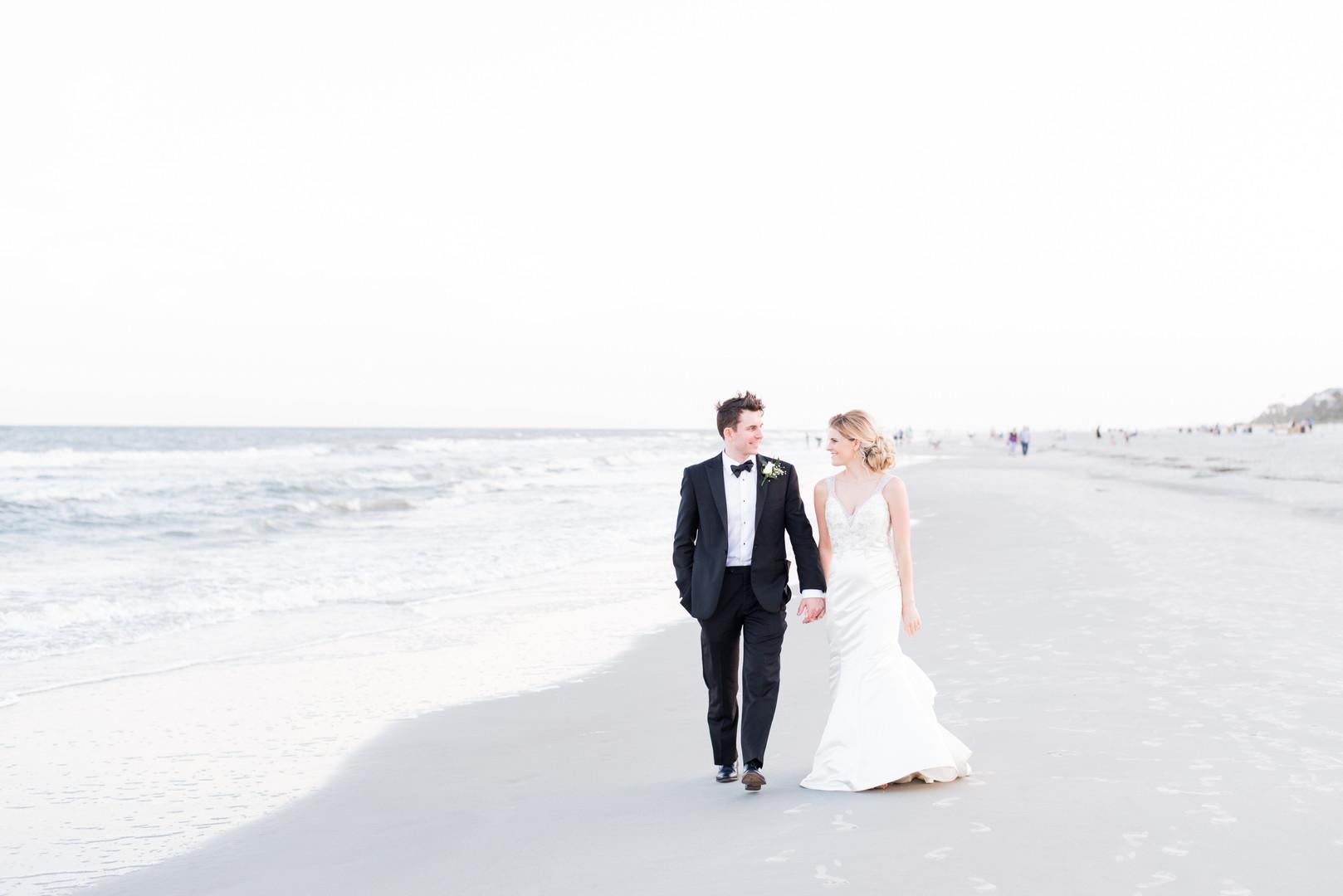 Jessica + Brian: Beach View Wedding at the Dunes House, Hilton Head Island   Palmetto State Weddings