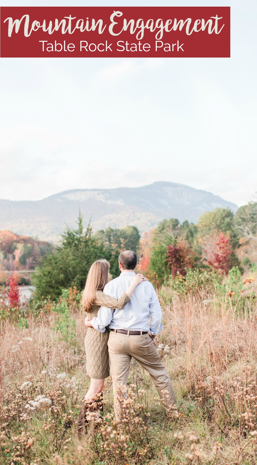 Mary and Peter: Southern Mountain Engagement at Table Rock State Park, South Carolina | Palmetto State Weddings | Mallori Ma Photography | engagement photo inspiration