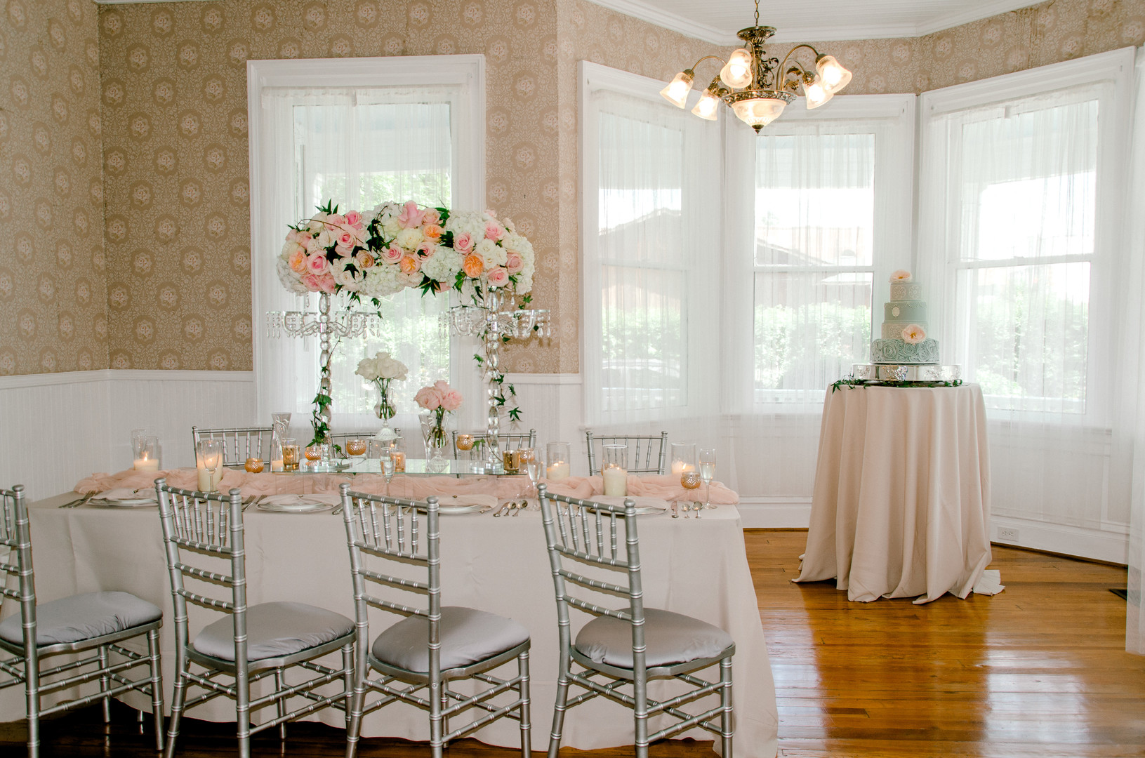 Pearls and Lace Styled Shoot at the Thomas House and Garden | Palmetto State Weddings
