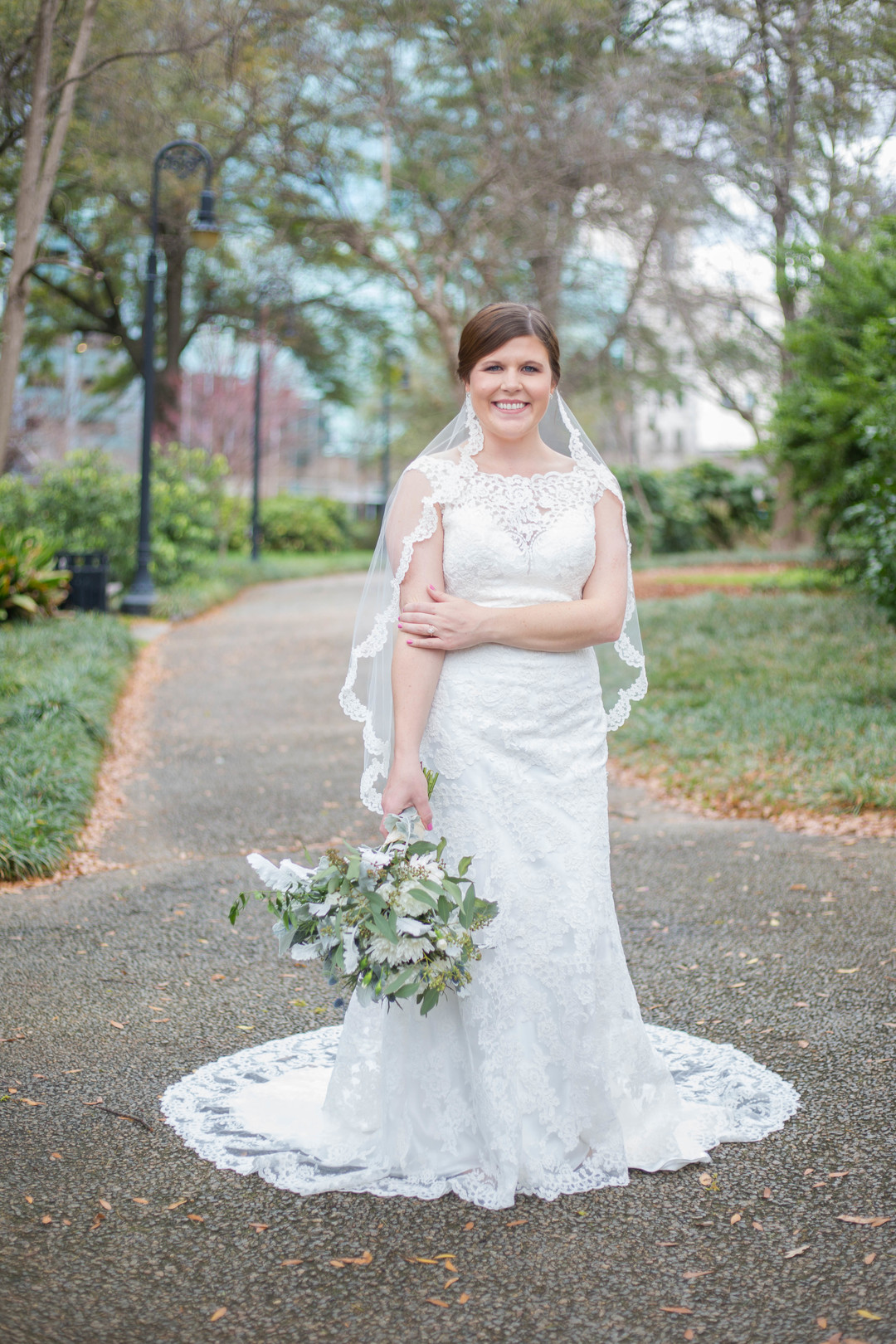 Ali's Bridal Portraits at the South Carolina State House | Palmetto State Weddings