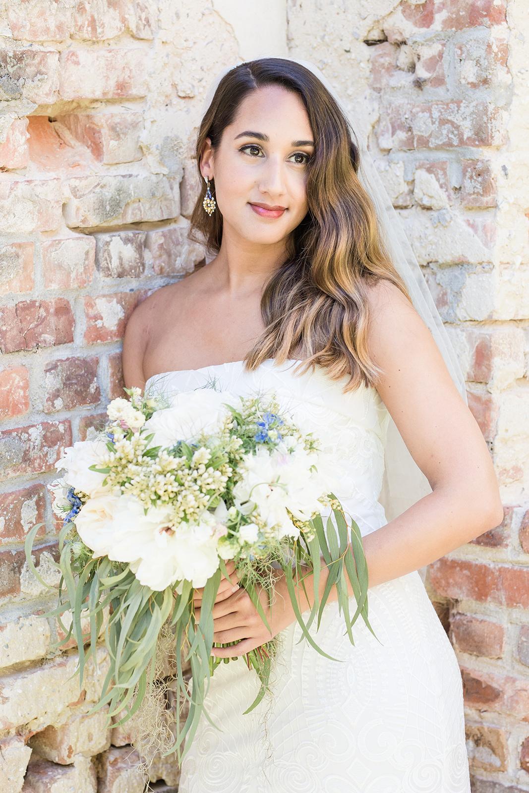 Natasha's Bridal Portraits at the Old Sheldon Church Ruins | Palmetto State Weddings