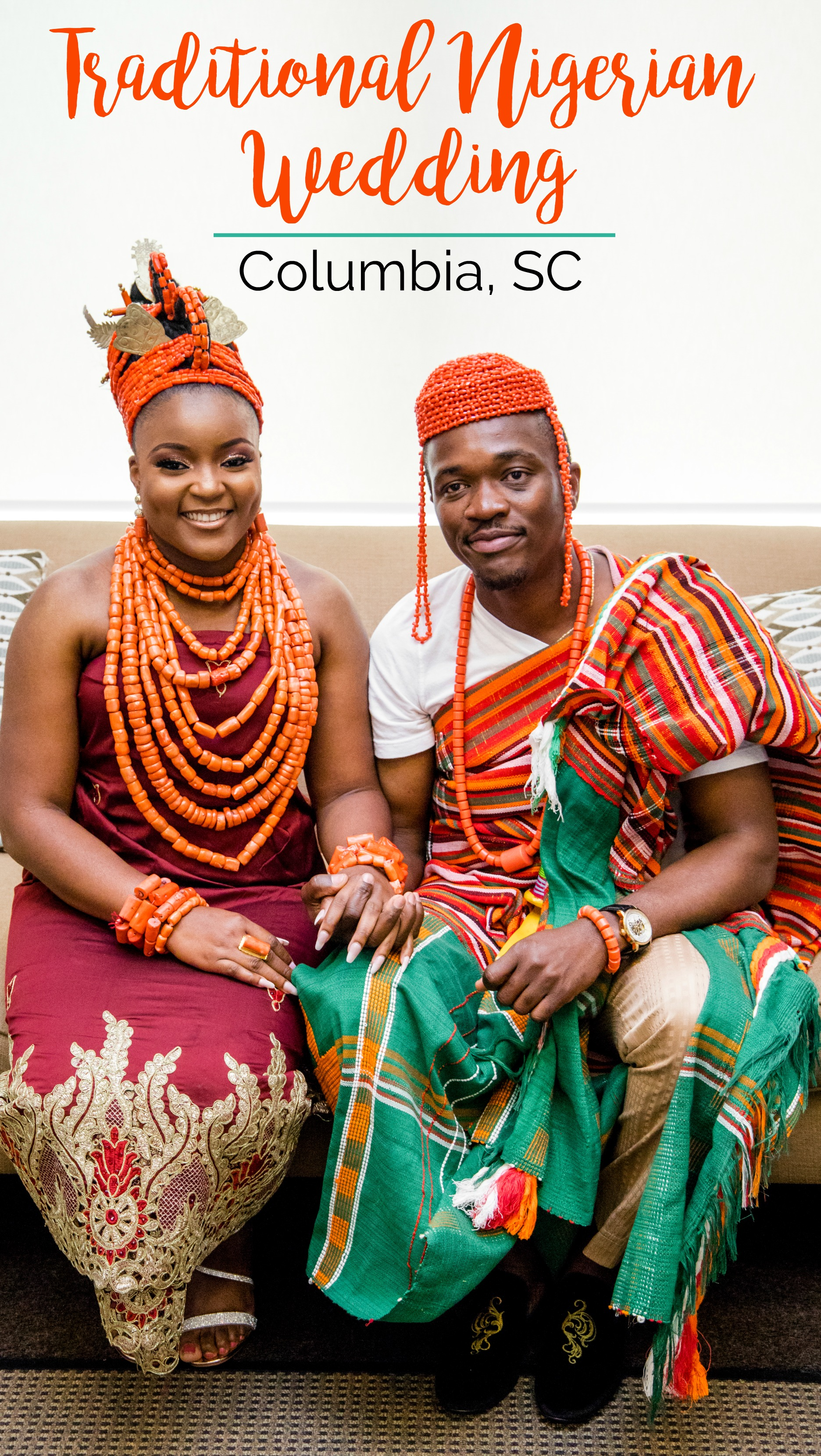 Praise and Samuel: Joyful Traditional Nigerian Wedding at Doko Manor, Blythewood, South Carolina | Palmetto State Weddings | Aubrey Plum Photography | traditional Edo ceremony | Columbia SC wedding