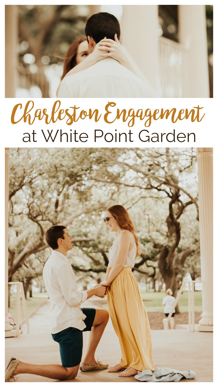 Kate and Joseph: Engagement at White Point Garden, Charleston, South Carolina | Palmetto State Weddings | Belisia Rodriguez Photography | Charleston proposal inspiration | Charleston weddings