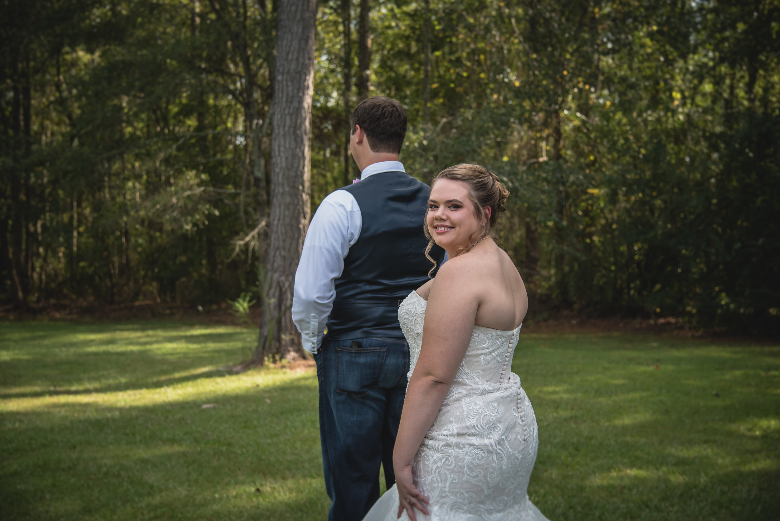 Anna + Dustin: Adorable Firefighter Wedding at T&S Farm | Palmetto State Weddings