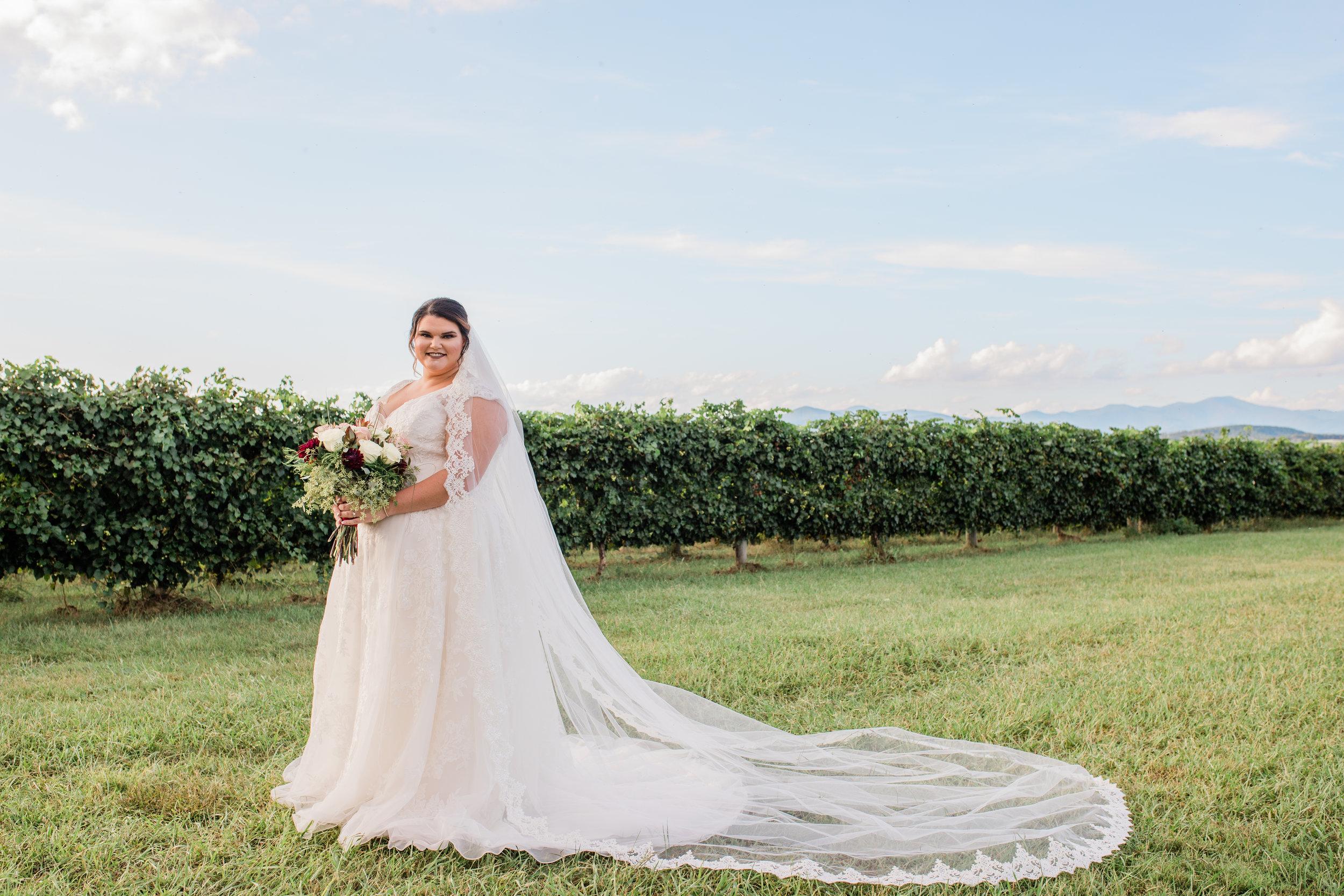 Brandi's Bridal Portraits at Chattooga Belle Farm | Palmetto State Weddings