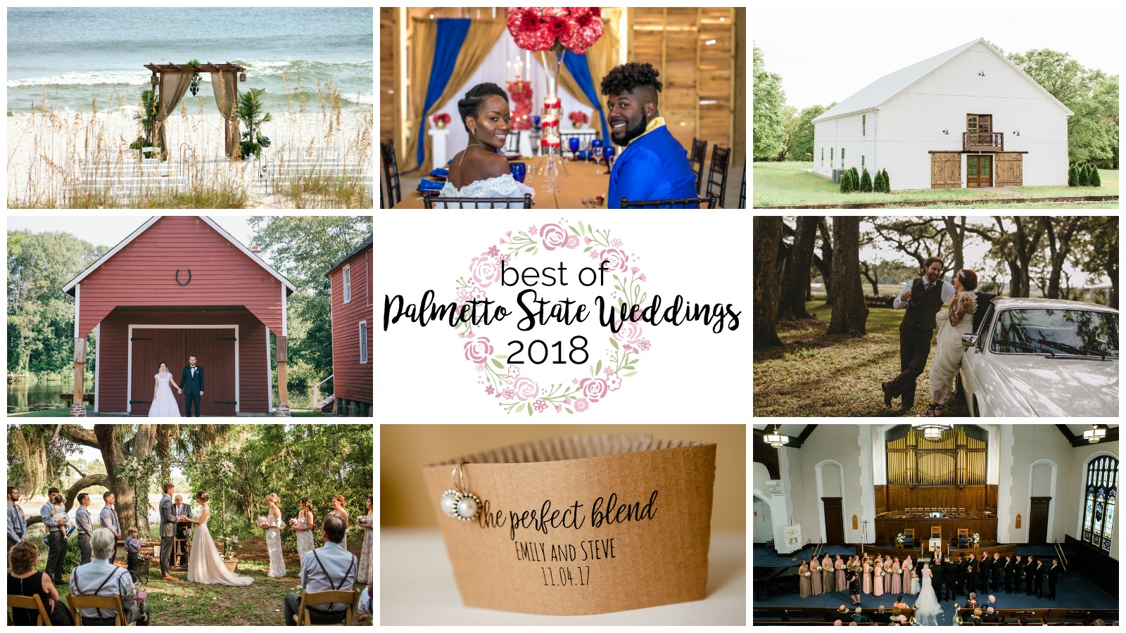 In Review: Best of Palmetto State Weddings 2018
