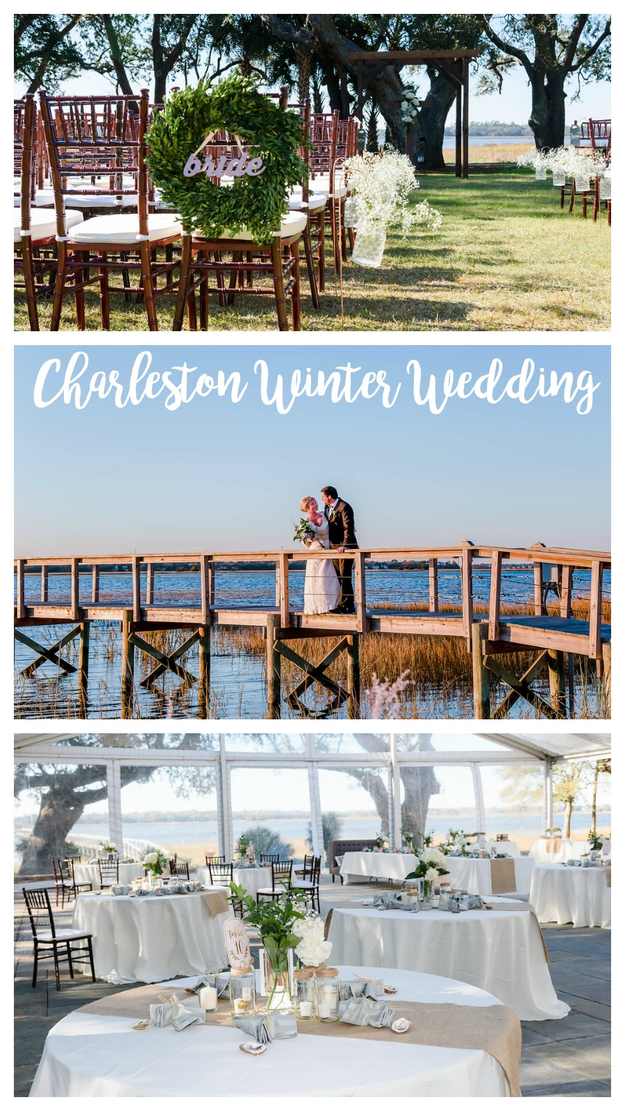 Kylie and Mark: New Year's Eve Weekend Wedding at Lowndes Grove Plantation | Palmetto State Weddings | Leigh Hayward Photography | Charleston plantation wedding | Charleston waterfront wedding | winter wedding