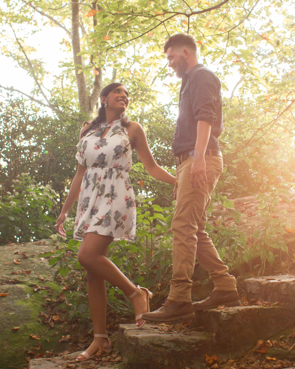 Sierra + Remington: Engagement at Caesars Head State Park | Palmetto State Park