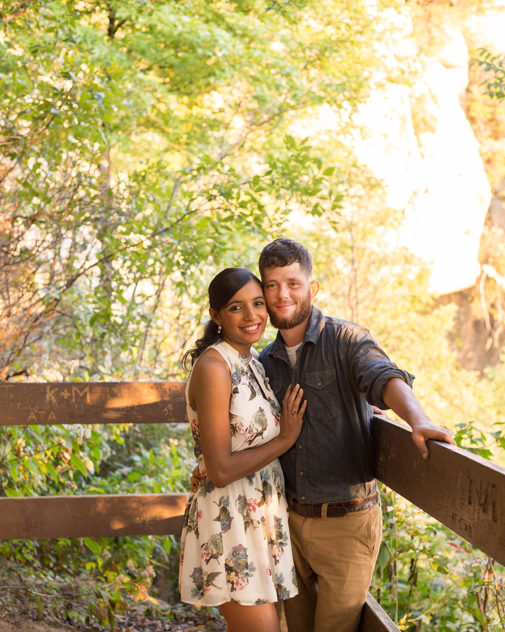 Sierra + Remington: Engagement at Caesars Head State Park | Palmetto State Weddings