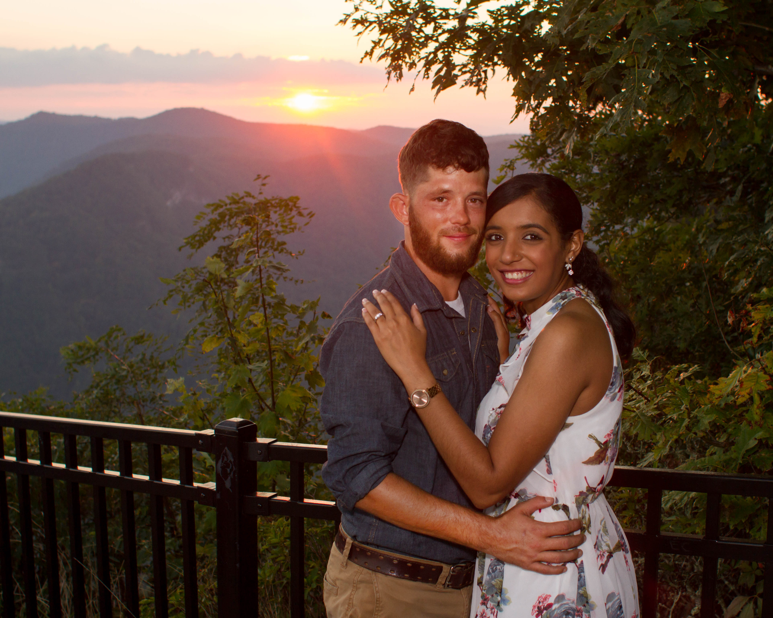 Sierra and Remington: Engagement at Caesars Head State Park | Palmetto State Weddings