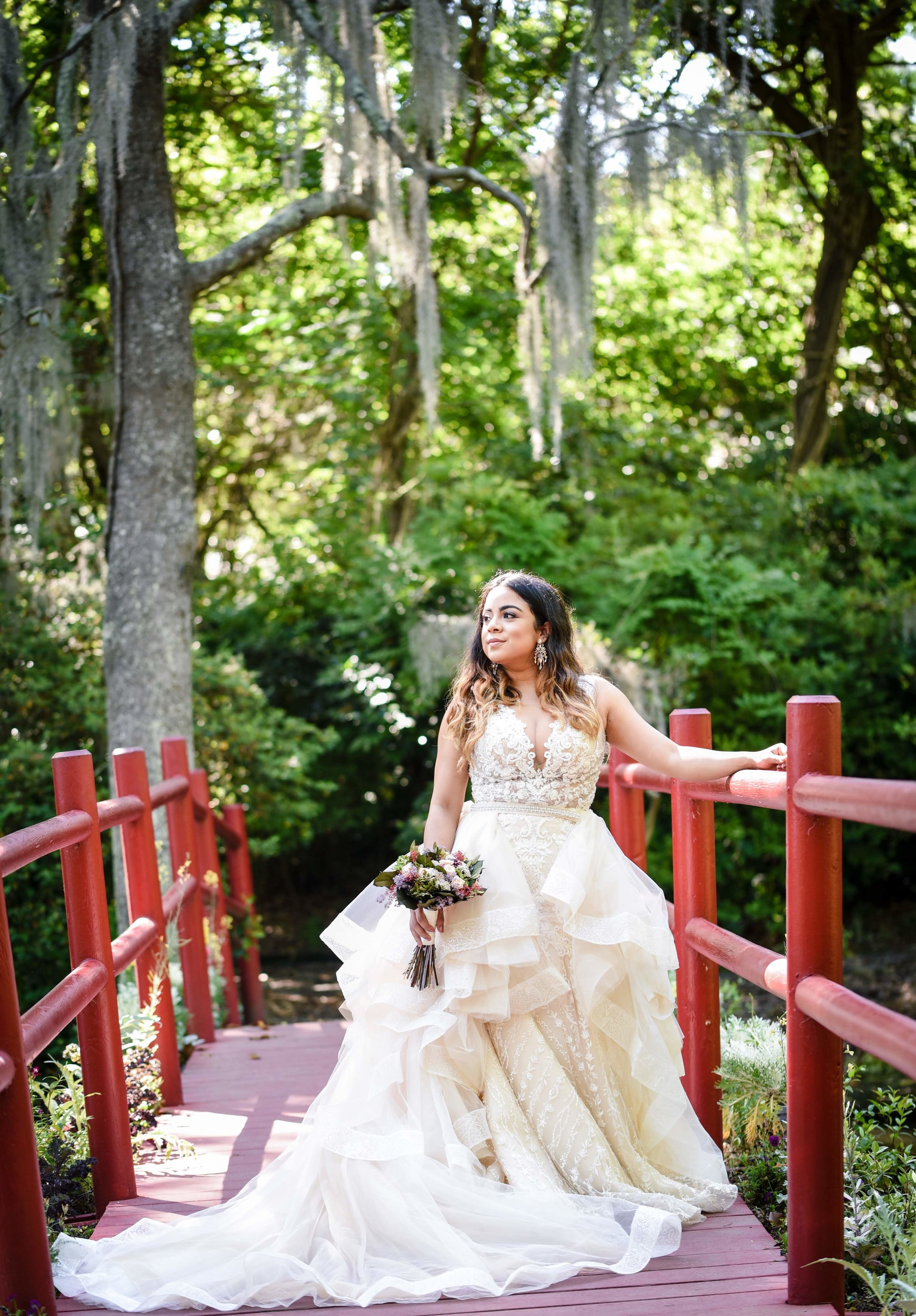 Jessica's Bridal Portrait Session at Magnolia Plantation and Gardens | Palmetto State Weddings