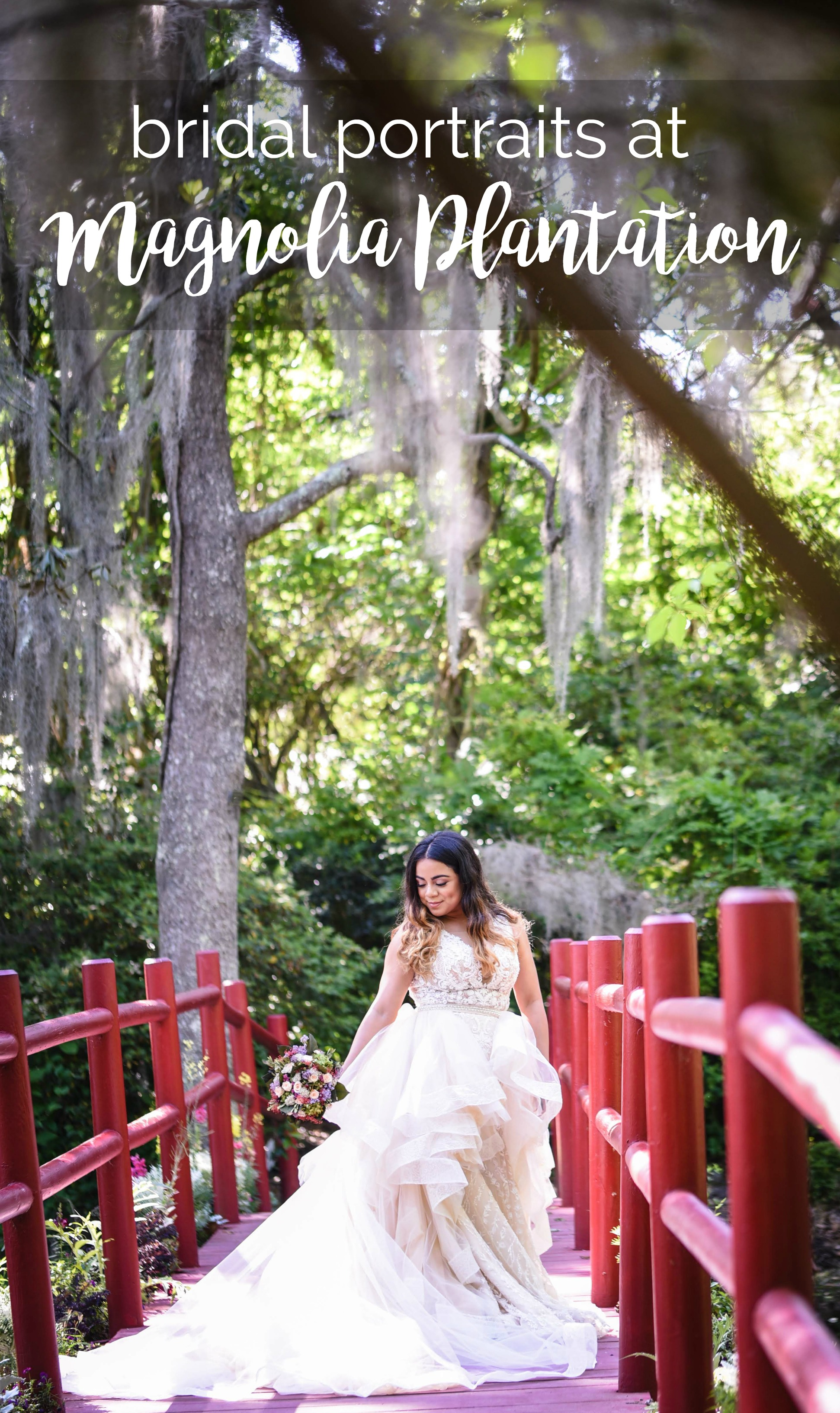 Jessica's Bridal Portrait Session at Magnolia Plantation and Gardens, Charleston, South Carolina | Palmetto State Weddings | Radiant Photography by Sydney Danielle | Charleston wedding | Charleston wedding venues