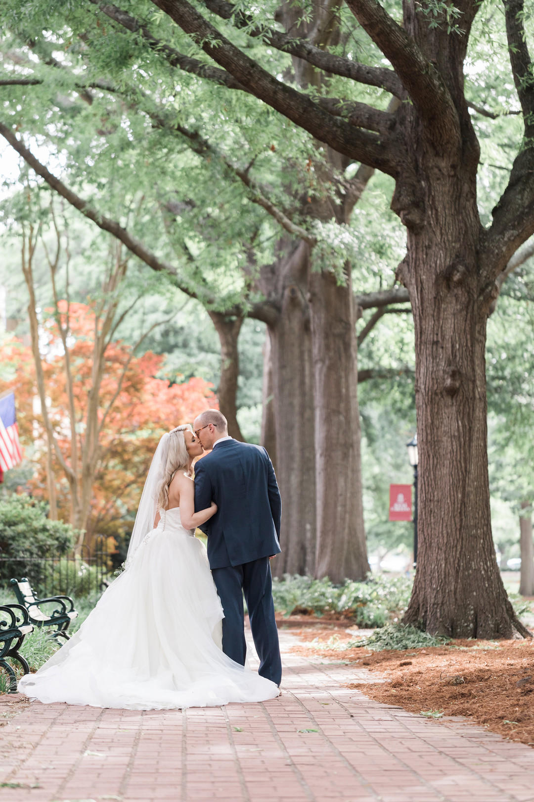 Gable + Jordan: Rutledge Chapel Wedding at the University of South Carolina | Palmetto State Weddings