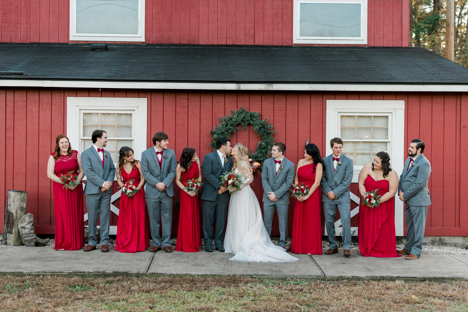 Kiley and Matthew: Elegant Christmas Wedding at Medicine Wind Farms | Palmetto State Weddings