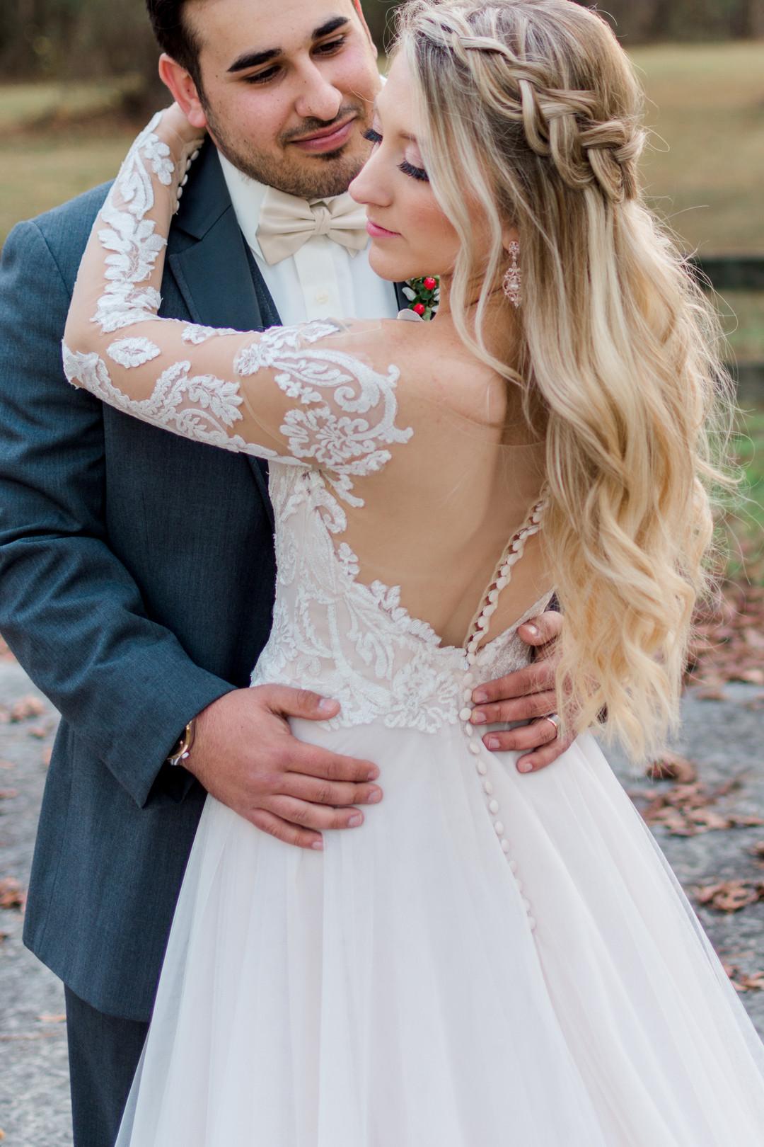 Kiley and Matt: Elegant Christmas Wedding at Medicine Wind Farms | Palmetto State Weddings