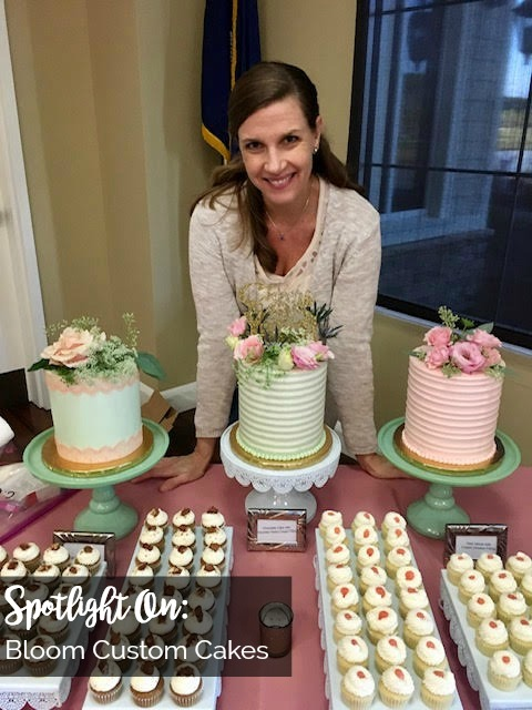 Spotlight On: Bloom Custom Cakes | Palmetto State Weddings | Jessica Kent baker | Beaufort bakeries | Beaufort wedding cake | Beaufort catering