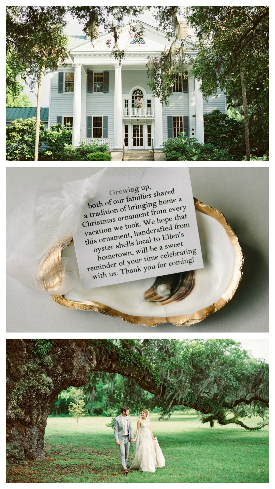 Ellen and Dylan: Beautifully Personalized McLeod Plantation Wedding, Charleston, South Carolina | Palmetto State Weddings | JoPhoto | plantation wedding | Southern wedding | DIY wedding | handmade wedding
