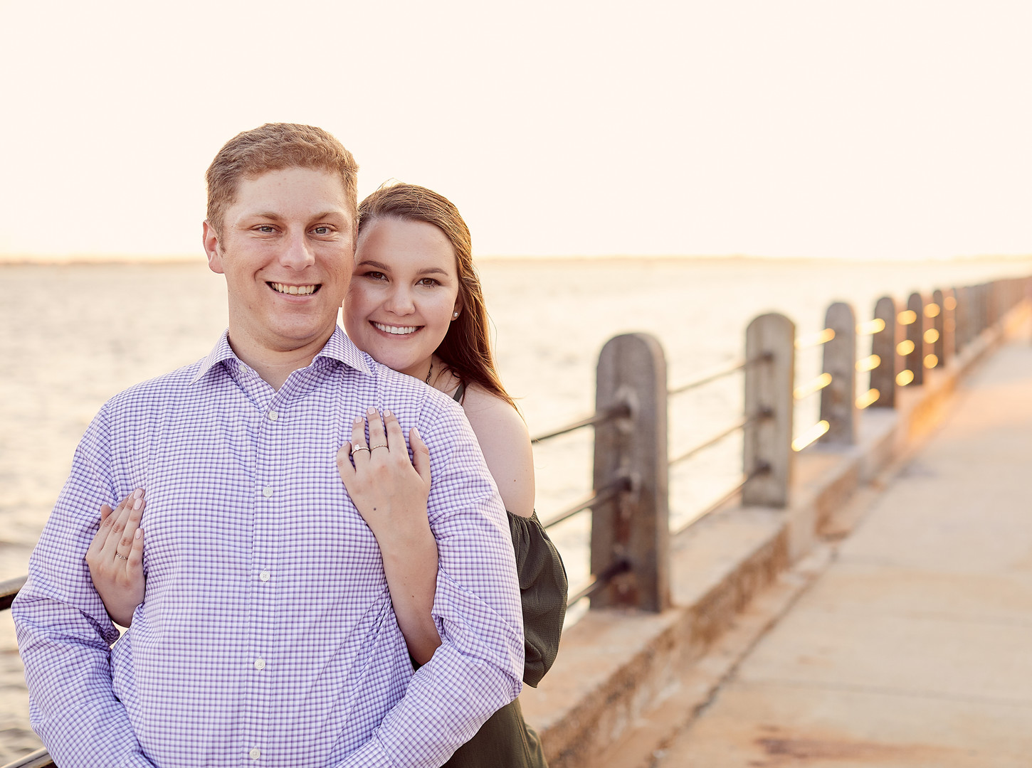 Kristin + Ryan: Surprise Engagement at White Point Garden, Charleston | Palmetto State Weddings