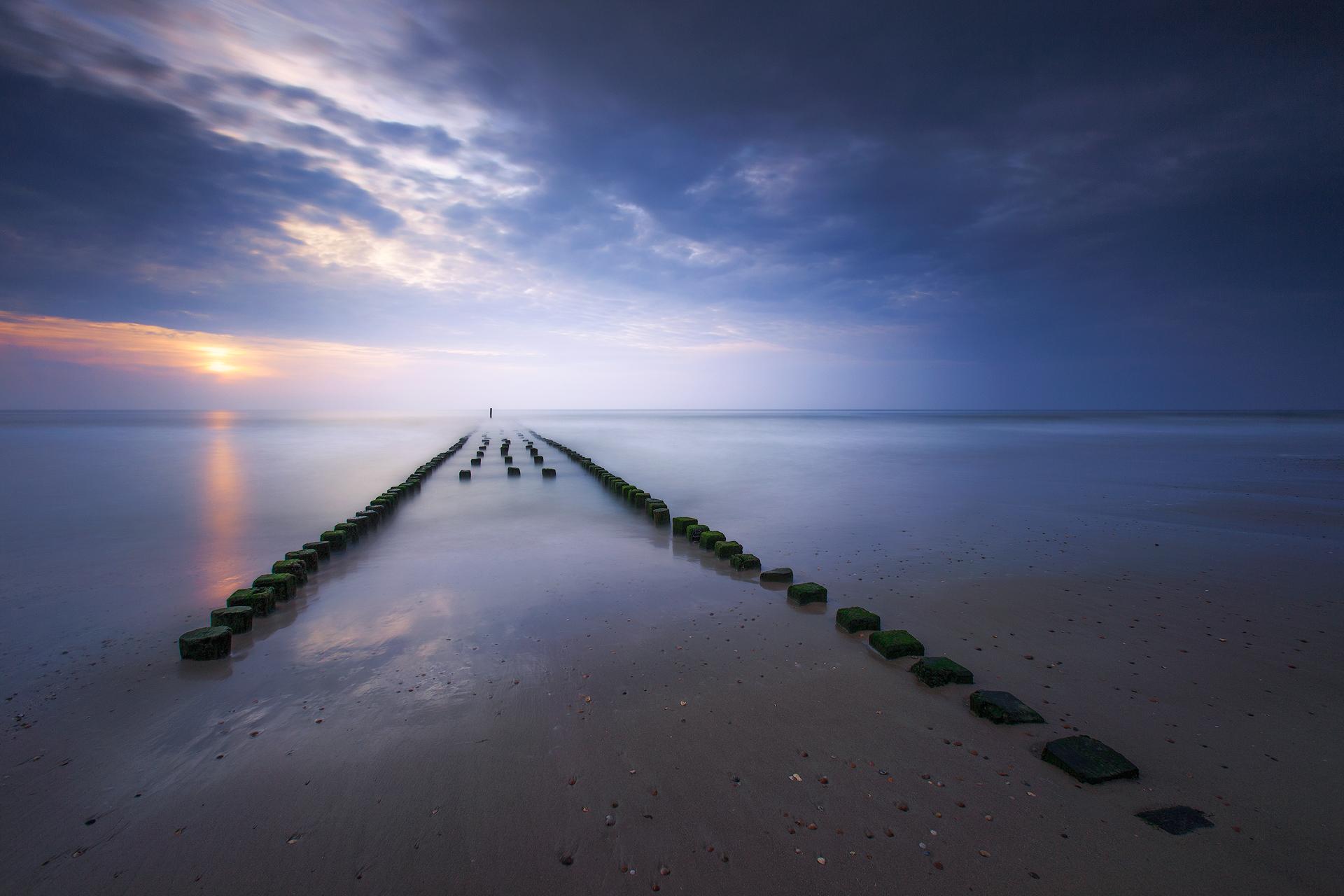 A calm evening (Westkapelle, The Netherlands)