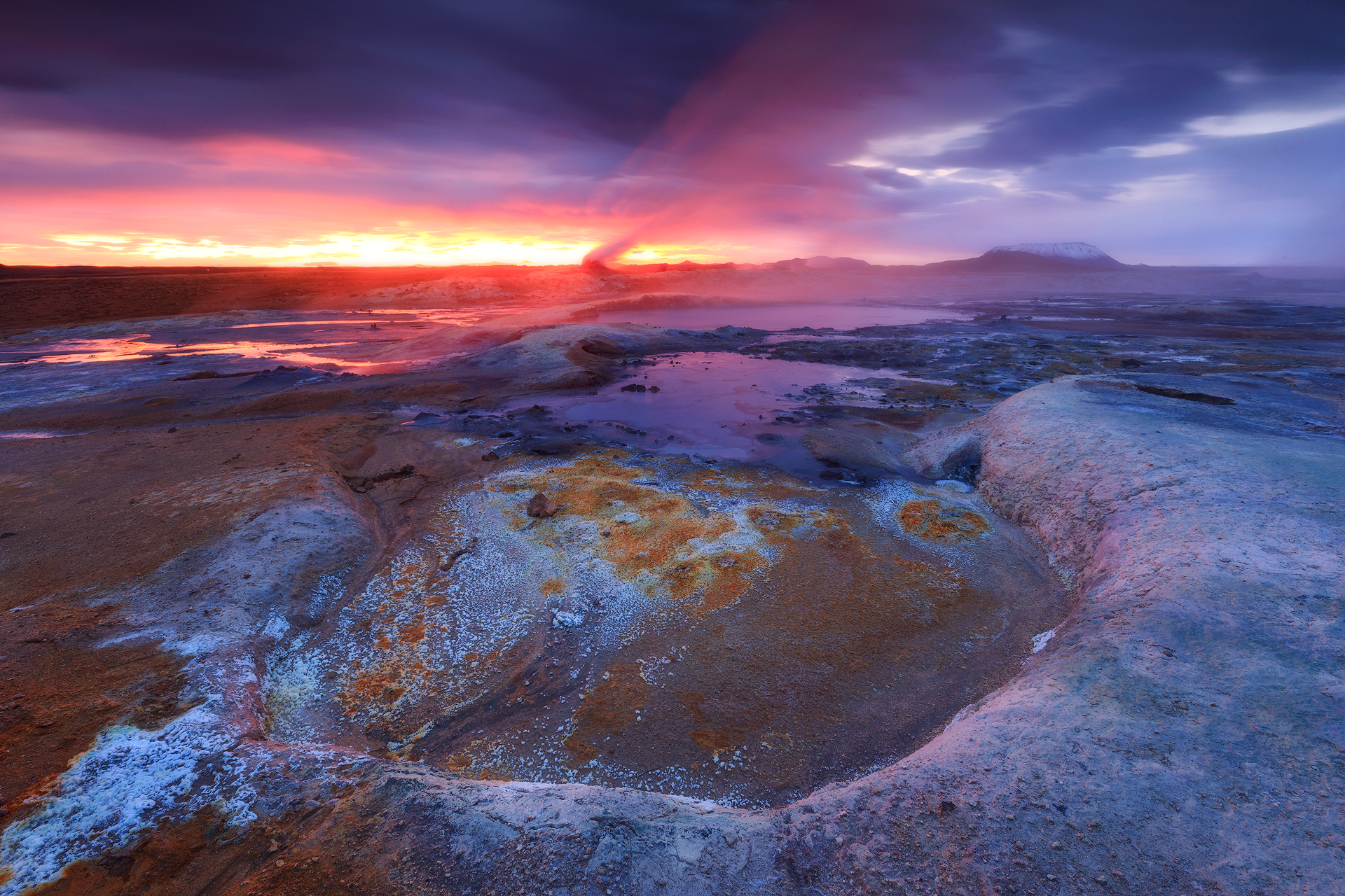 (Hverir, Iceland)