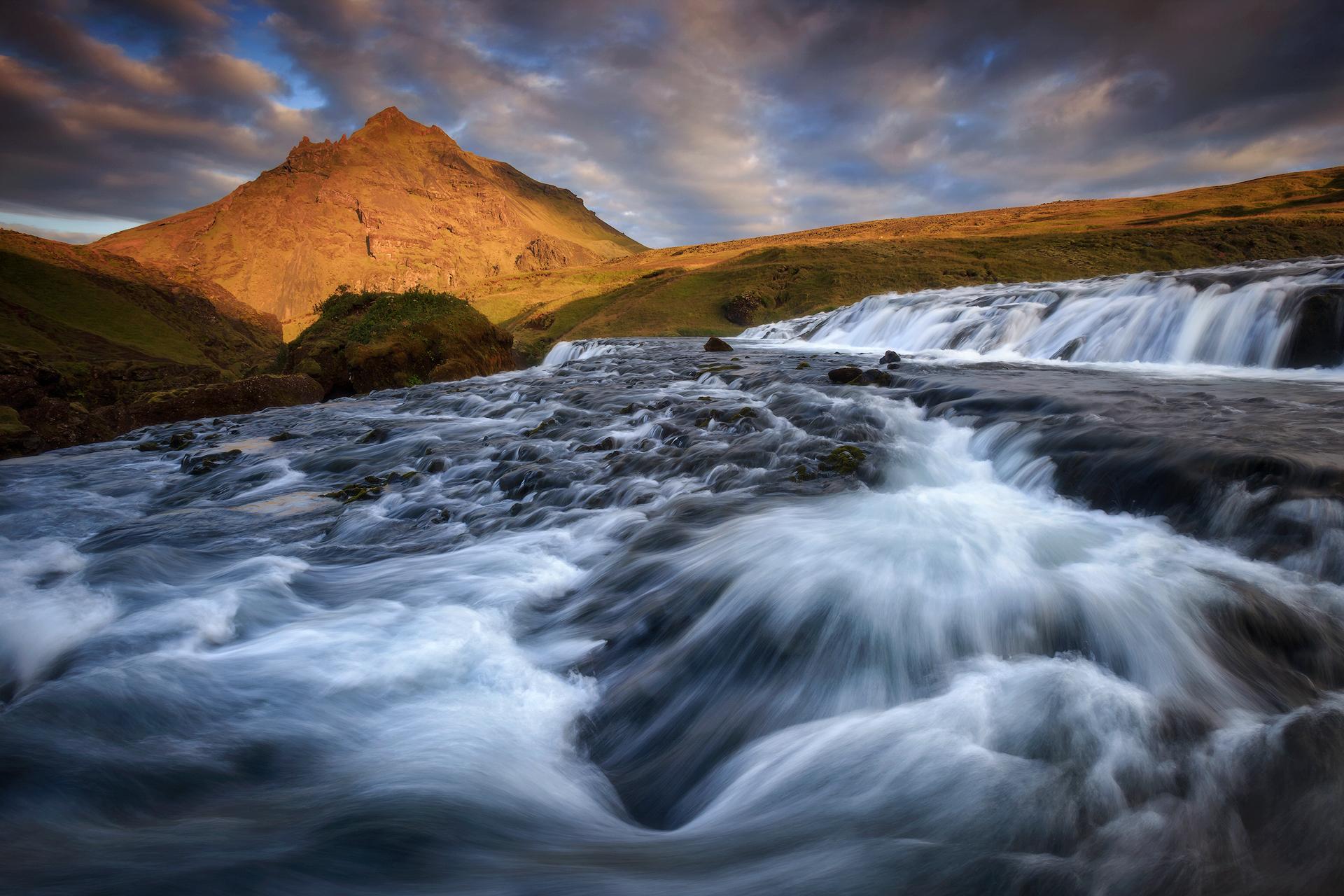 (Skogar, Iceland)