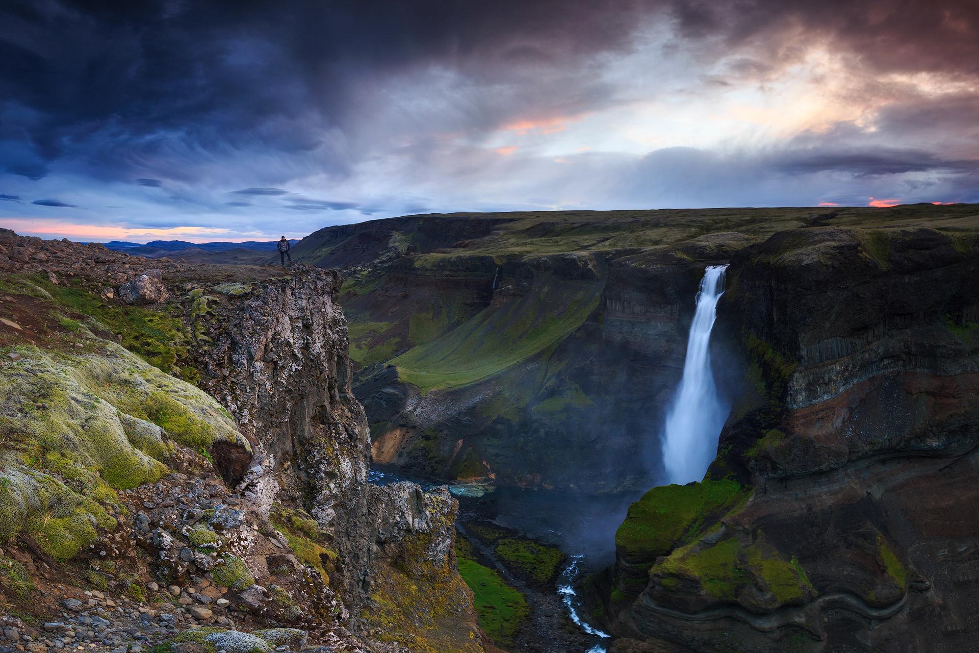 (Haifoss, Iceland)