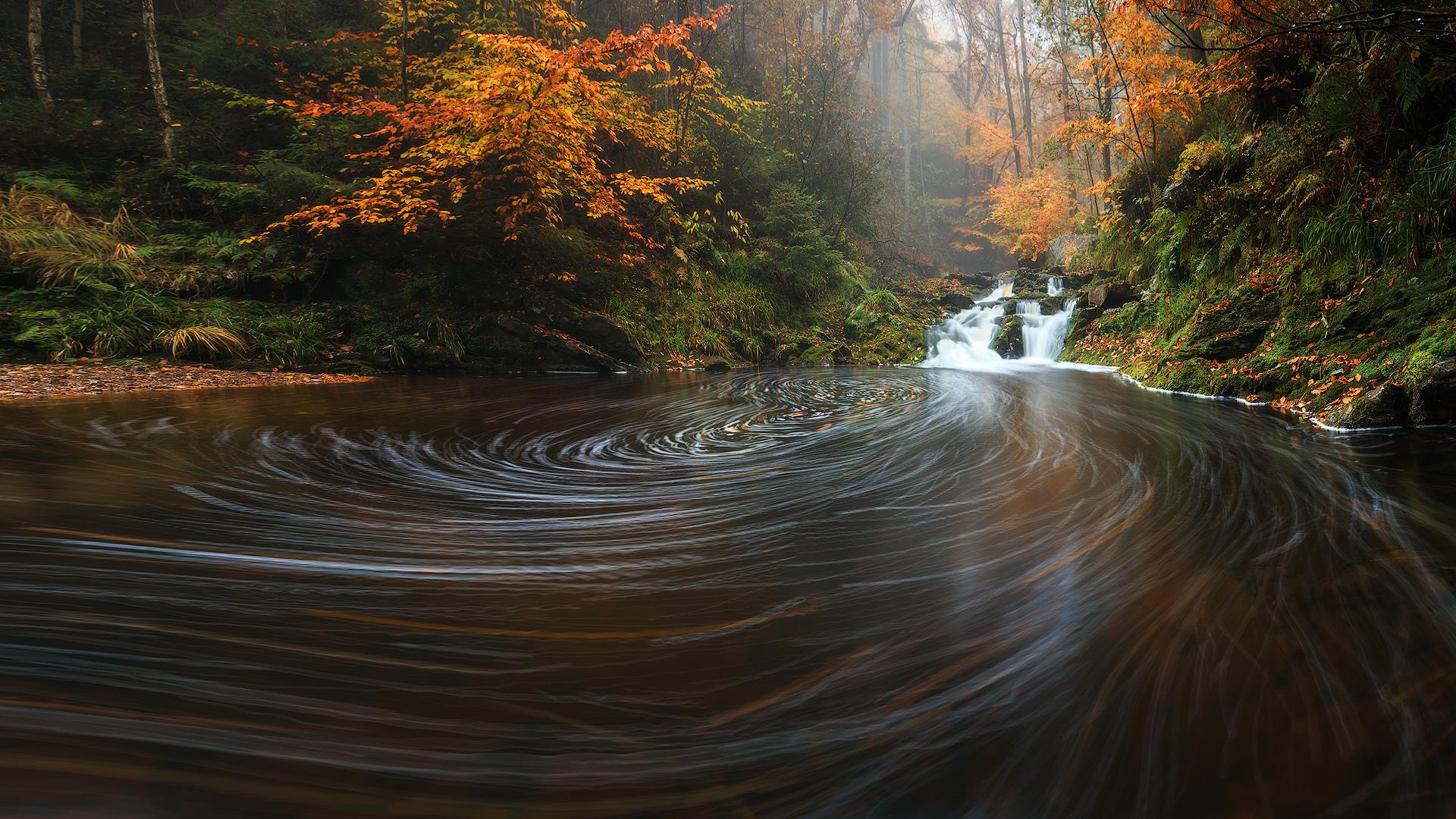 (Hoegne river, Belgium)