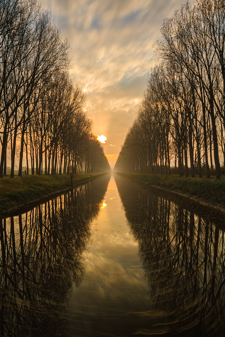 Canal reflections (Damme Belgium)