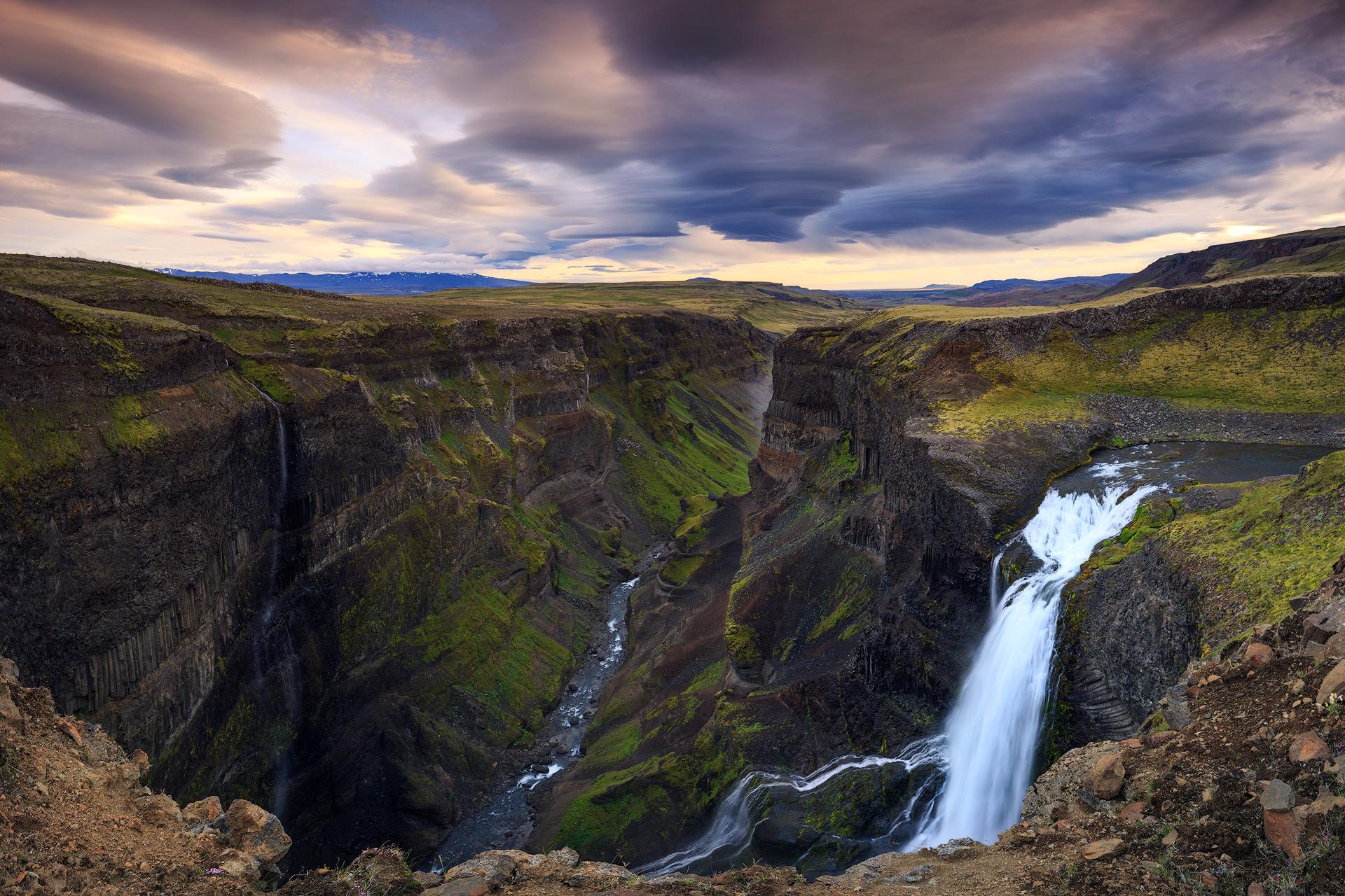 (Haifoss area, Iceland)