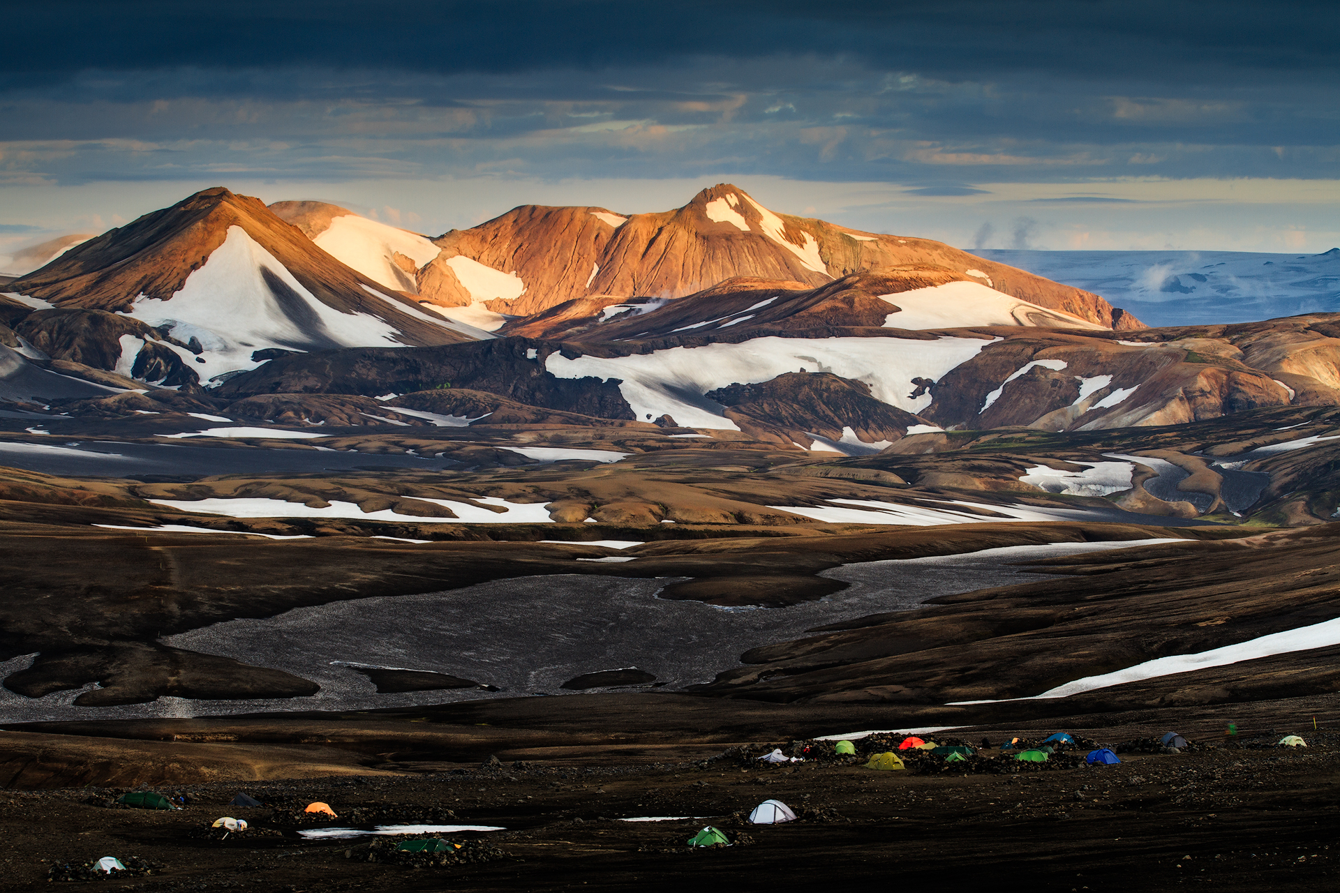 (Hrafntinnusker, Iceland)