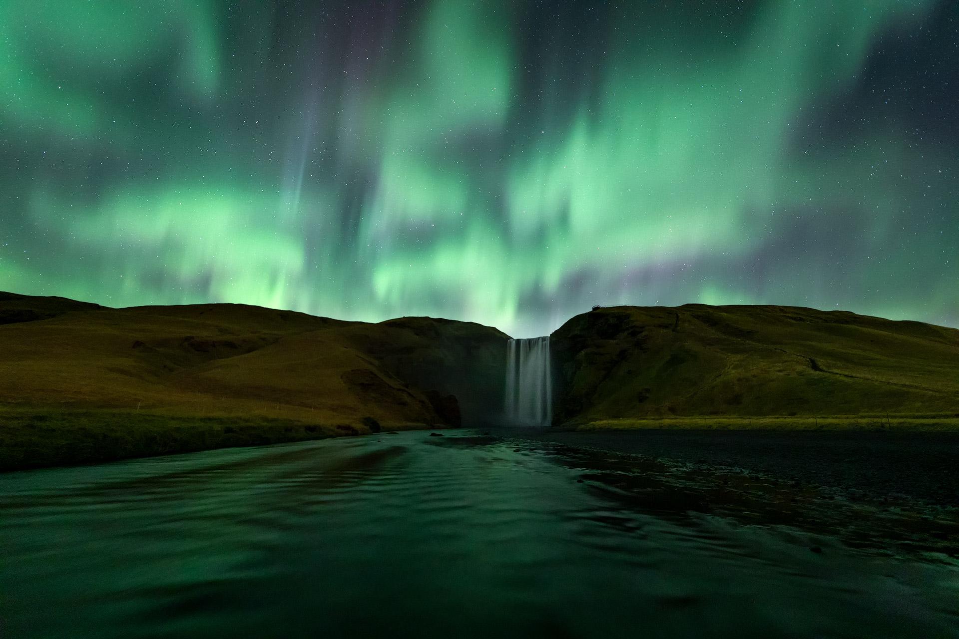 Skogafoss, Iceland