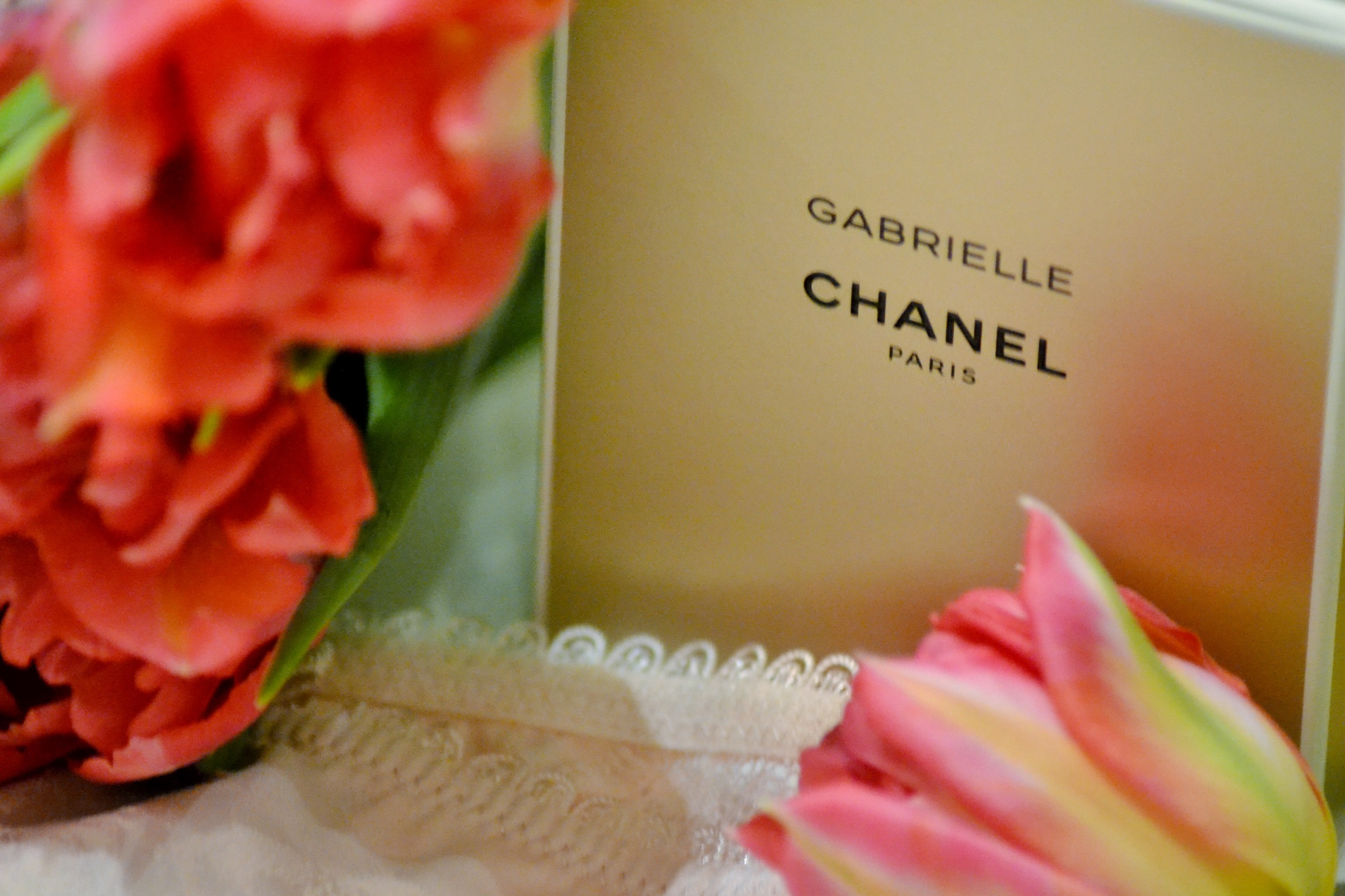 Chanel 'Gabrielle' EDP  //  Ted Baker lace shorts  //
