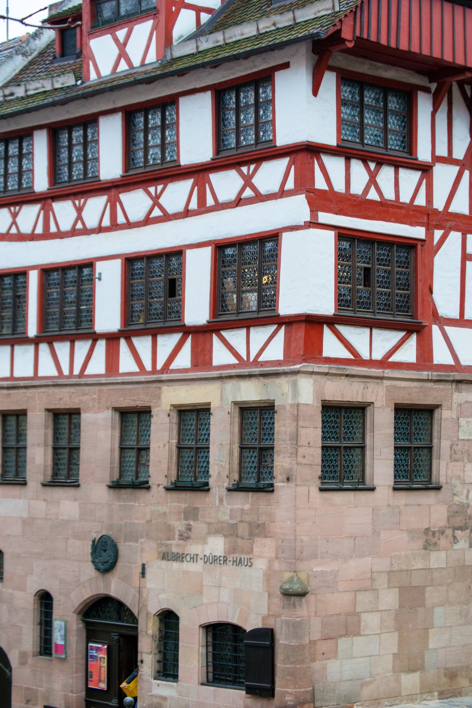 The house of Albrecht Dürer {now a museum} near the Imperial Castle