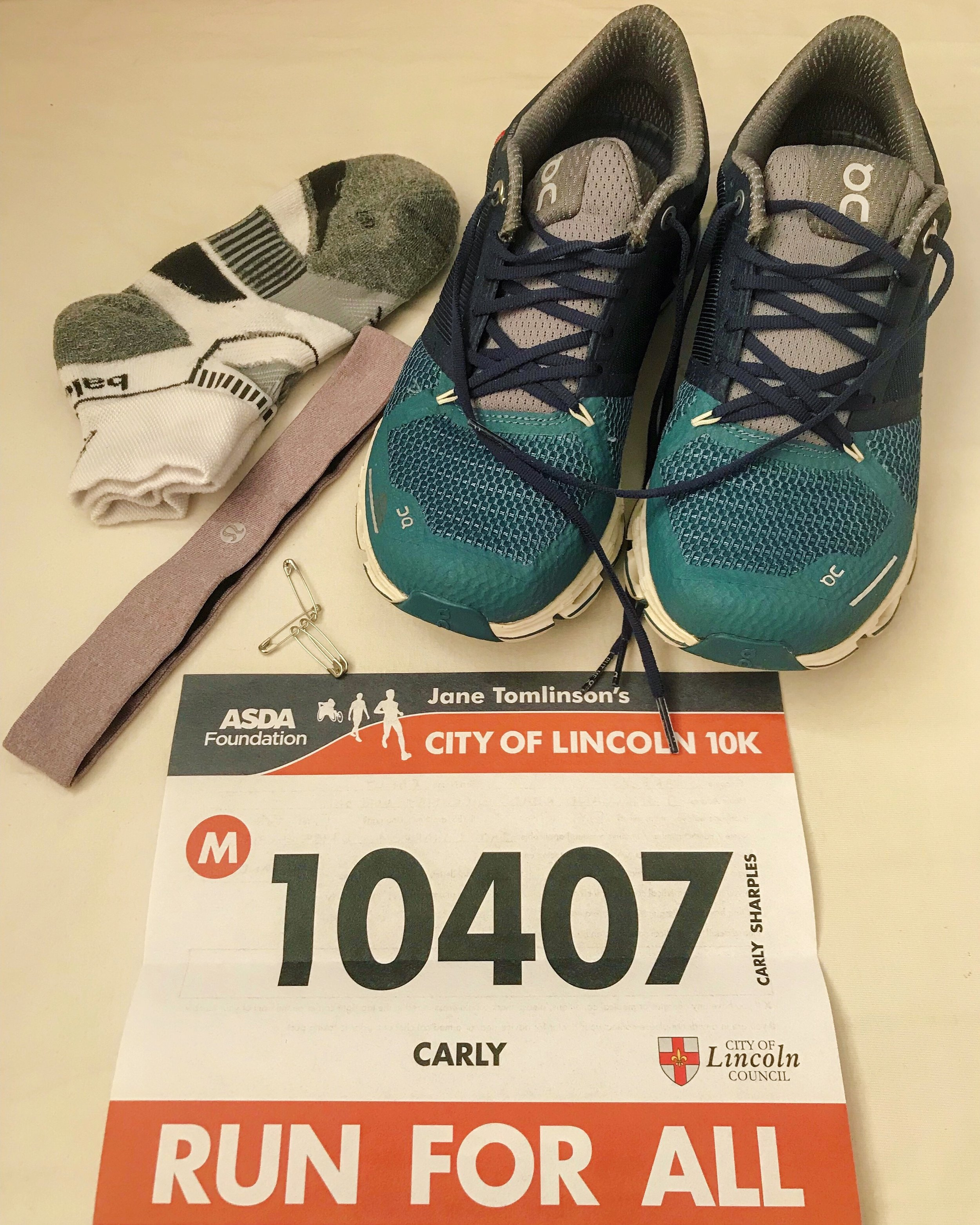 Getting ready to face my nemesis: the Lincoln 10km race