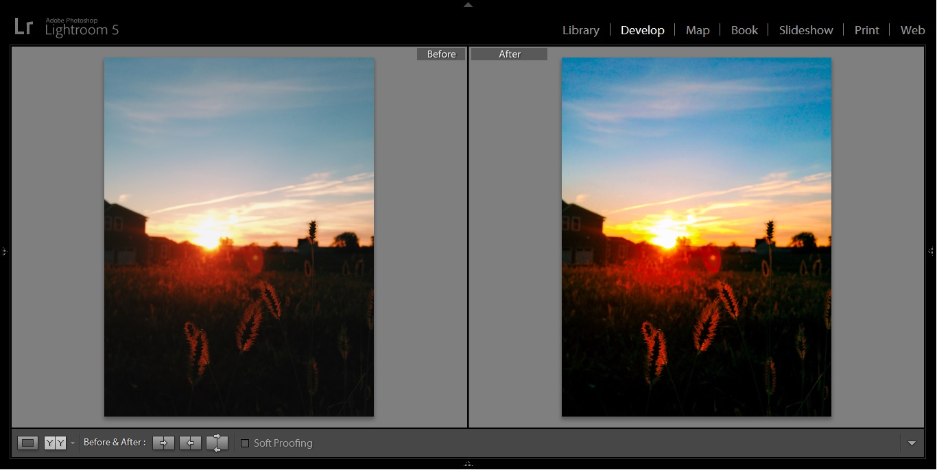 sunset nature before after.jpg