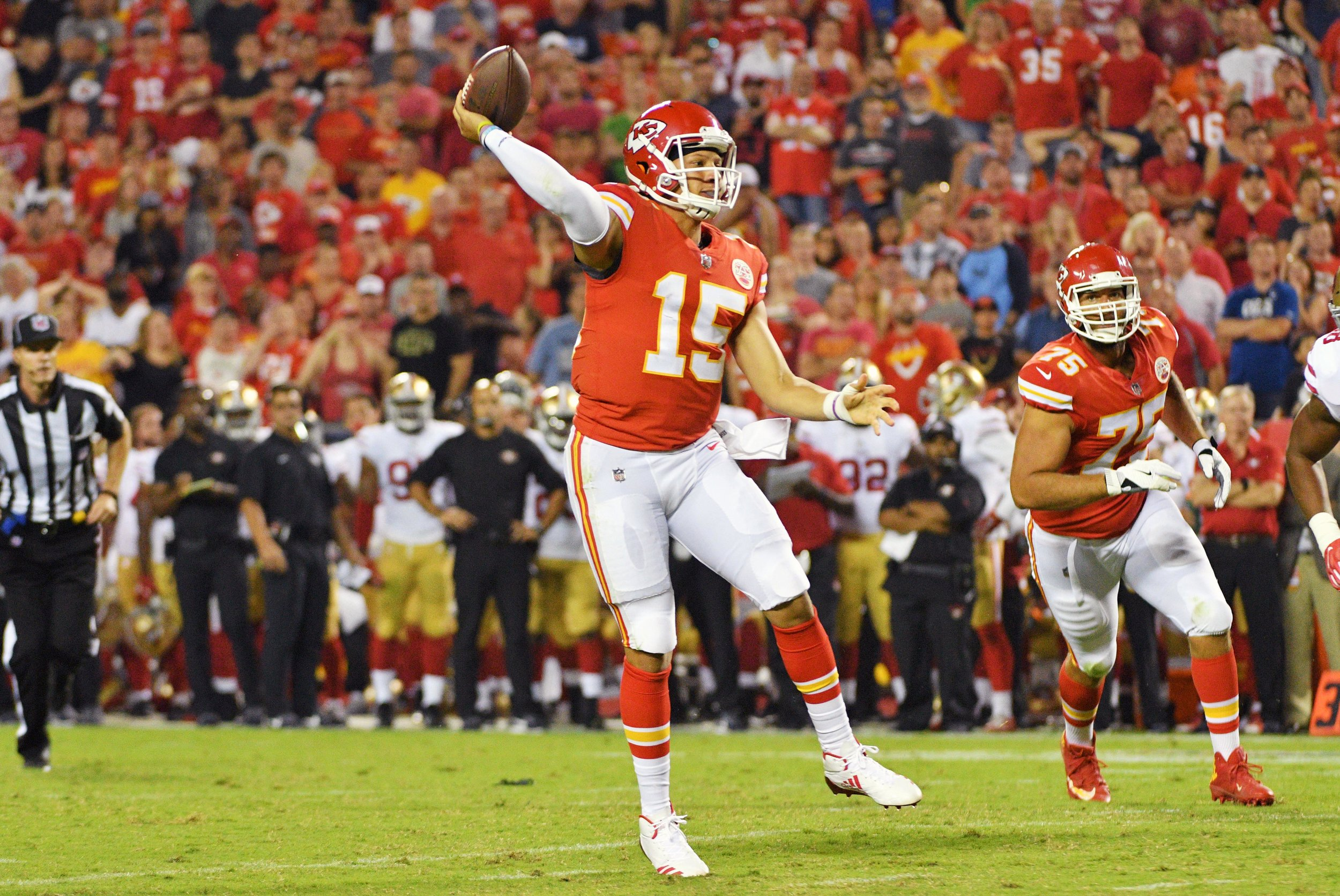 Pat Mahomes was our favorite pick for Offensive Player of the Year. He finished the season scoring the most fantasy points - EVER.