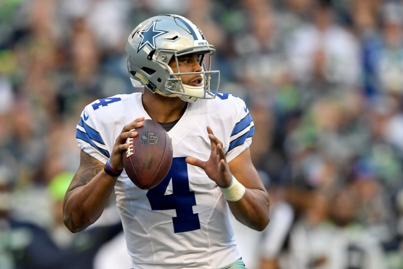 Will Dak lead the 'Boys to victory over the Rams this weekend?