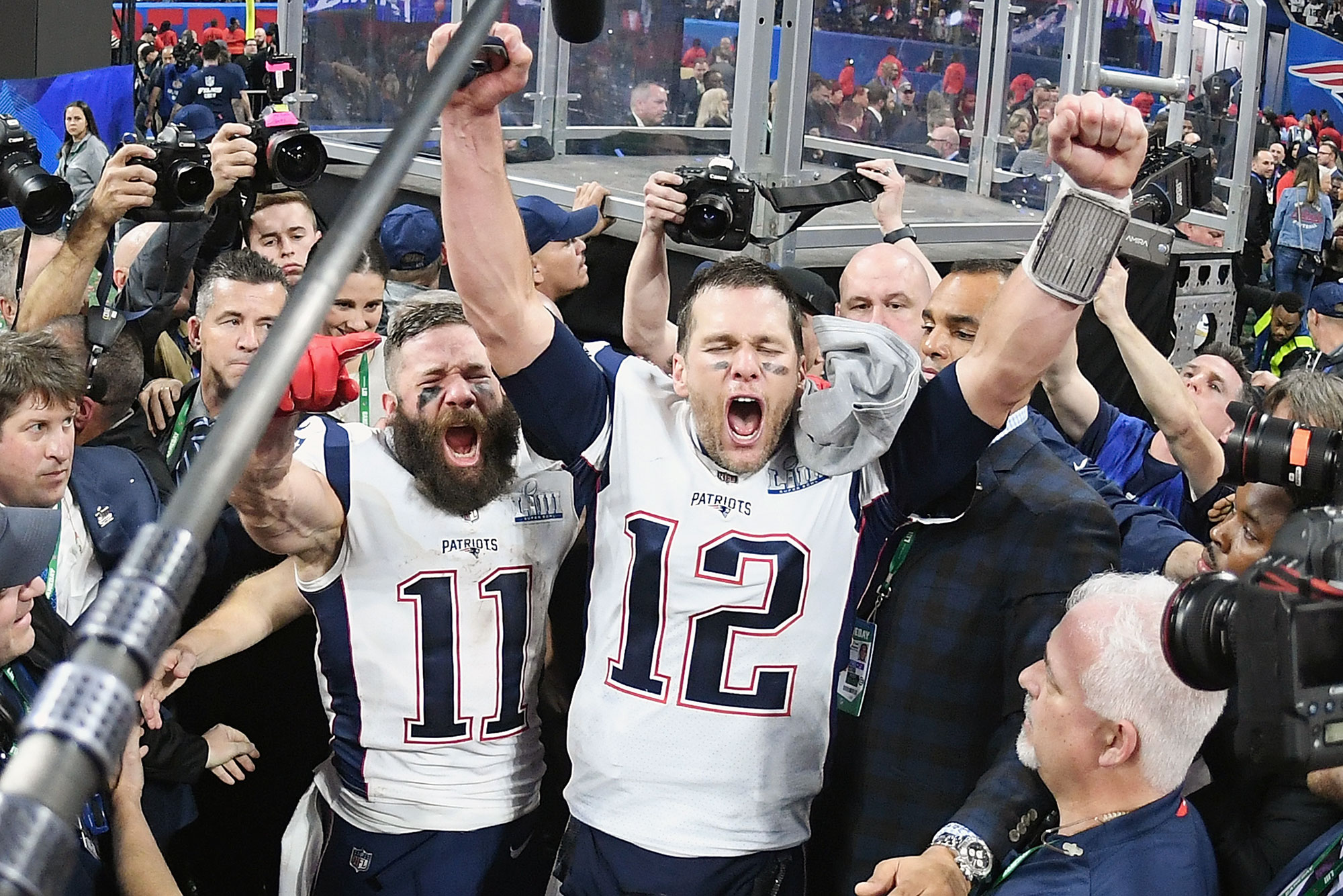 The Patriots win!… Again. Who would of thought?