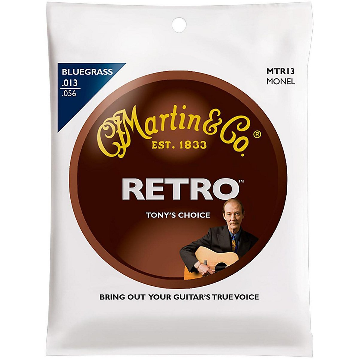 Martin Retro Monel strings -