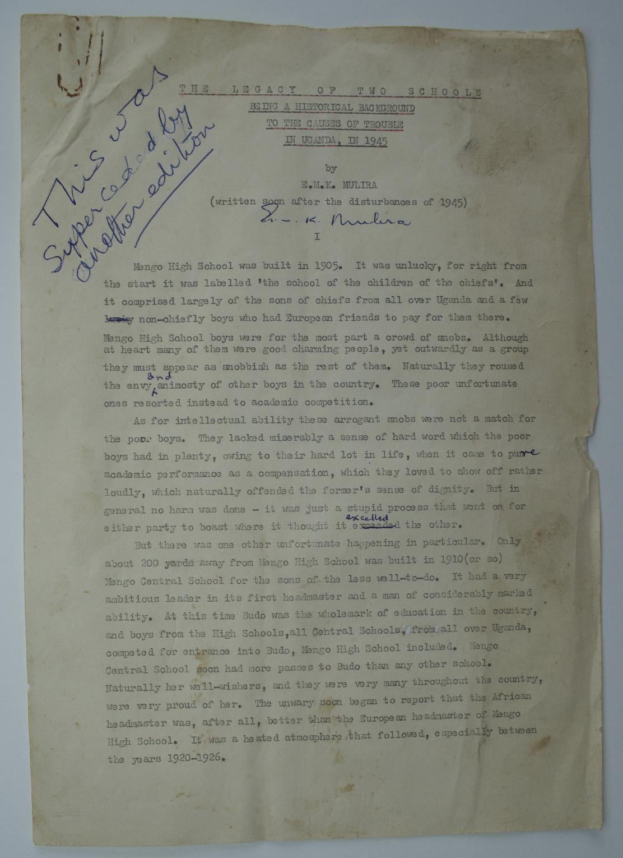 Source: EMKM/KCB/1/1, 1945