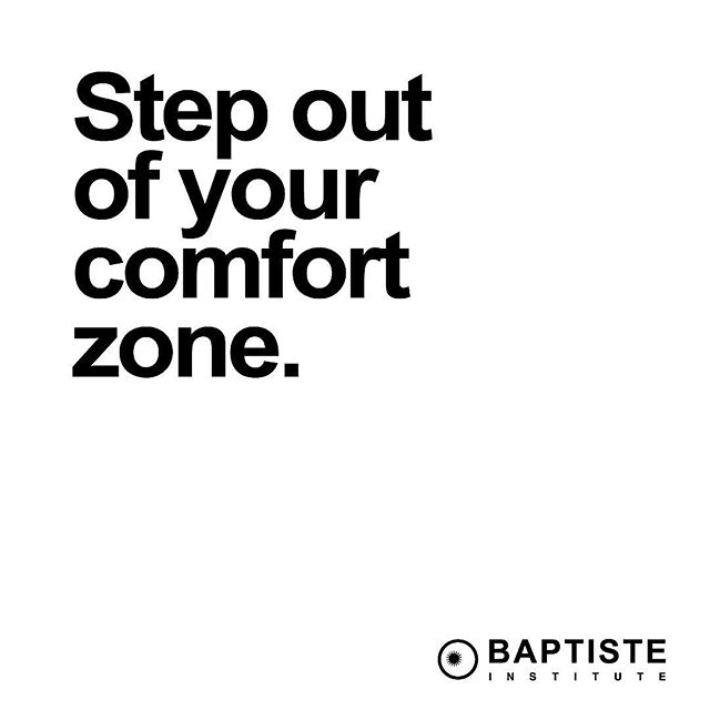 So many of us would rather cling to the familiar than risk the unknown. The past is familiar, something we can hold on to, while the future is completely uncharted and feels groundless. But we must venture forward in order to grow. 💫 What could be possible if you stepped out of your comfort zone?⠀ .⠀ #whybaptisteyoga #mybaptistepractice #todaynottomorrow⠀#sophiecanquote ⠀ Reposted @baptisteyoga ⠀