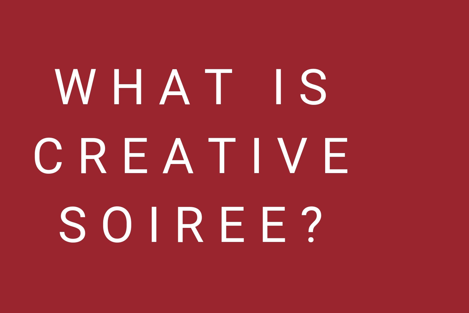 - We're a creative studio dedicated to providing one-of-a-kind educational experiences to help entrepreneurs pursue their purpose, create kickass content, and build their tribe. Grab a glass of wine and join our soiree!