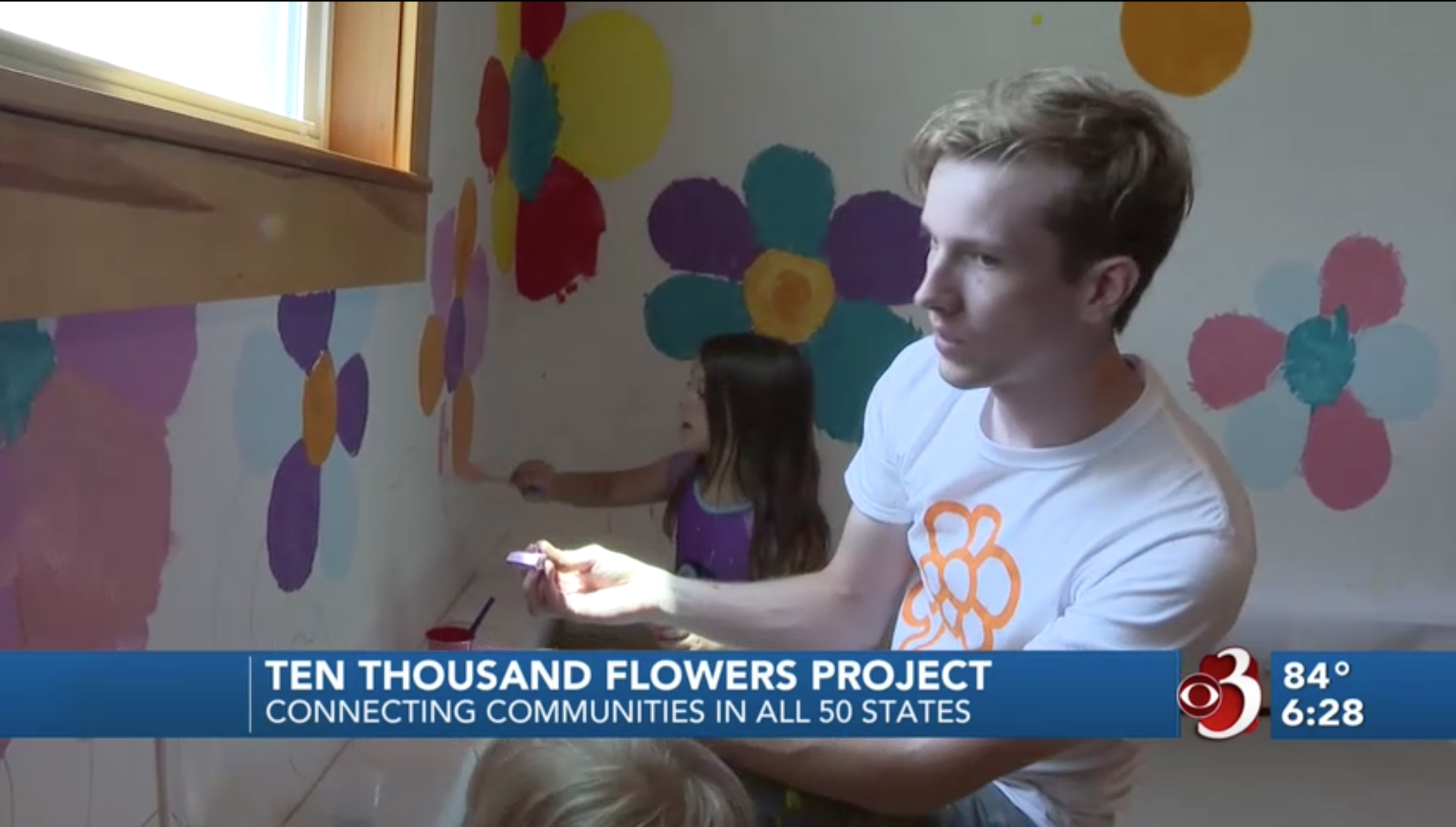 WCAX CBS 3 - There's a lot of negativity in the news these days, but there's also a lot of people out there spreading good, including one project that stopped in the Upper Valley this week.Nalah Cornish is a soft-spoken five-year-old, and she is a really good painter…