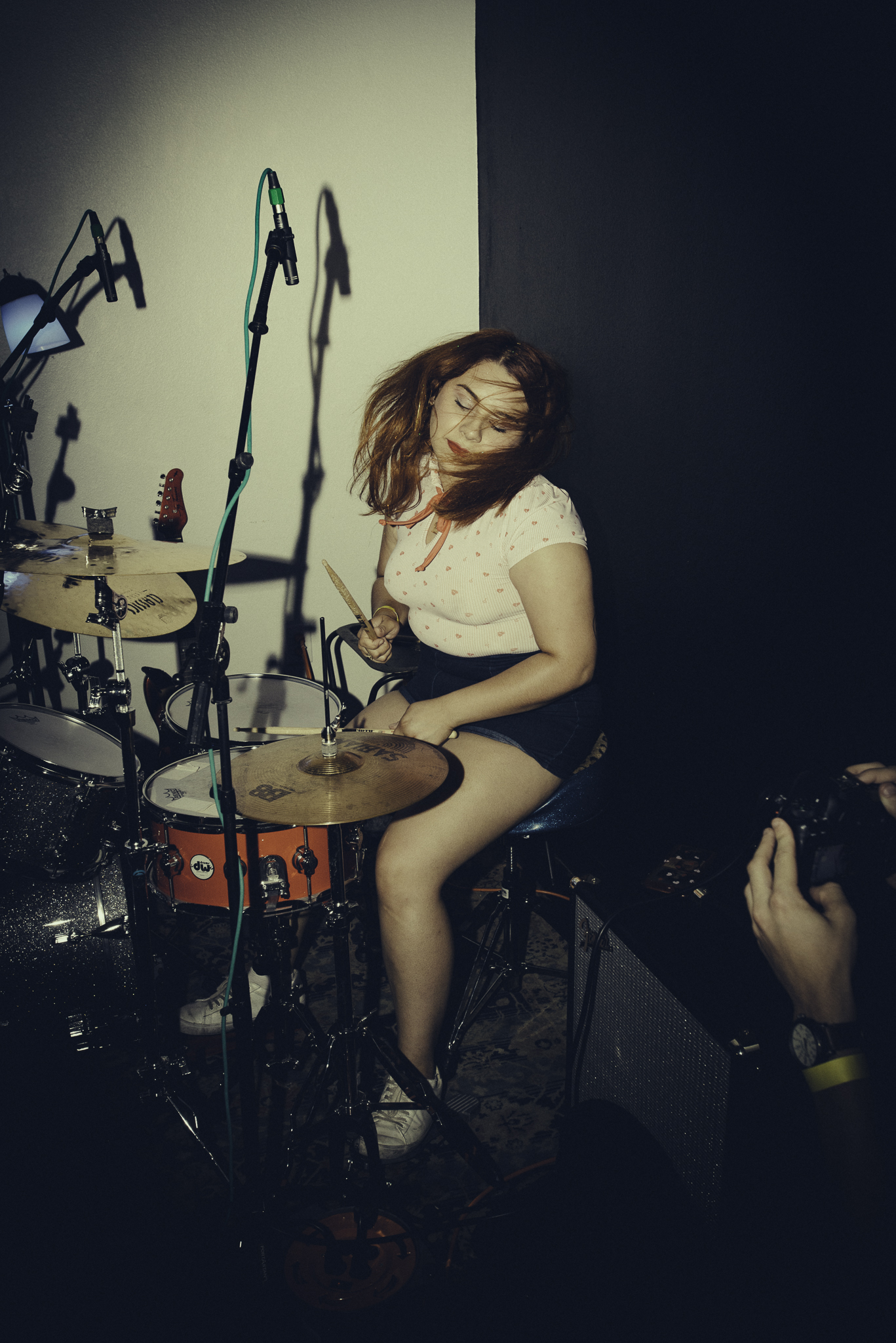 """shots from the 1st ever """"bands and threads"""" hosted by matt raker and brands and threads (the bralettes)"""