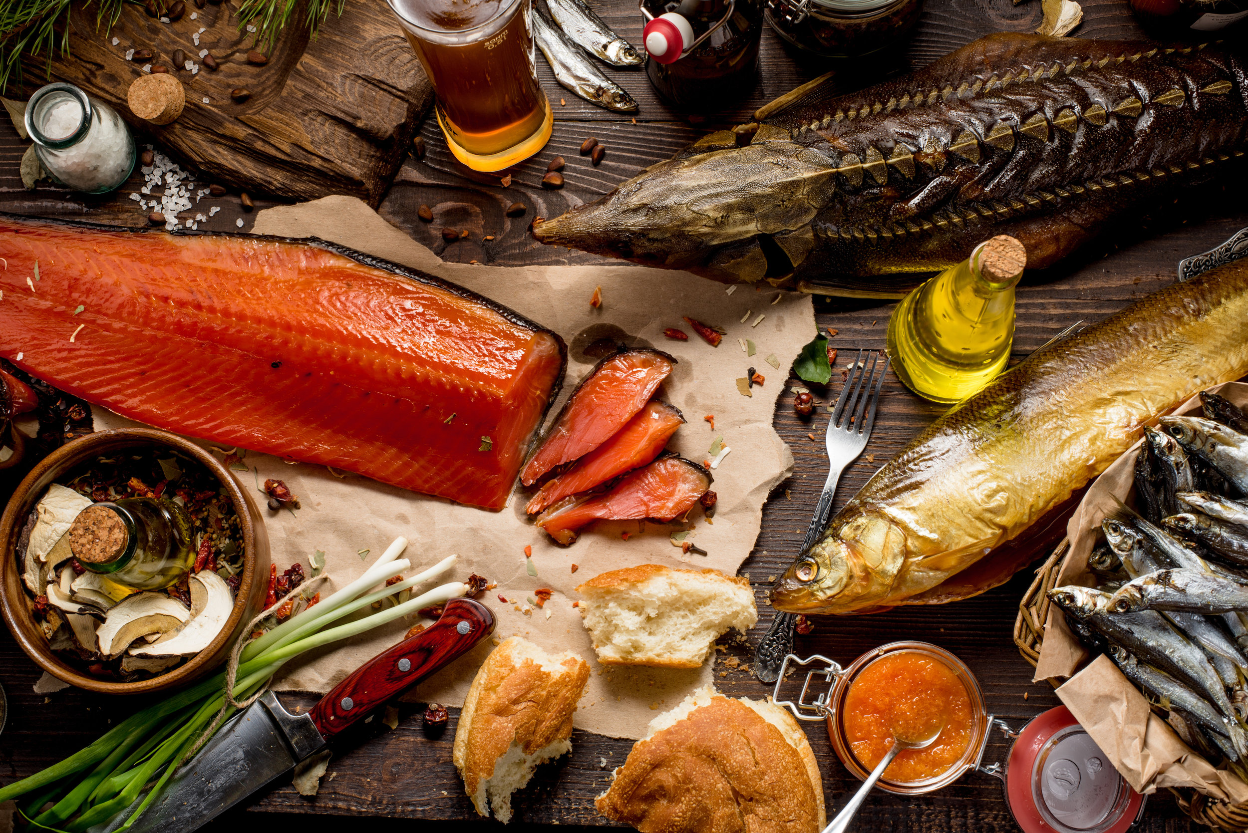 Smoking is one of the oldest ways of preserving foods. Brookman's Artisan Smokery practices old world traditional smokehouse methods to retain the authentic taste of properly smoked fish.