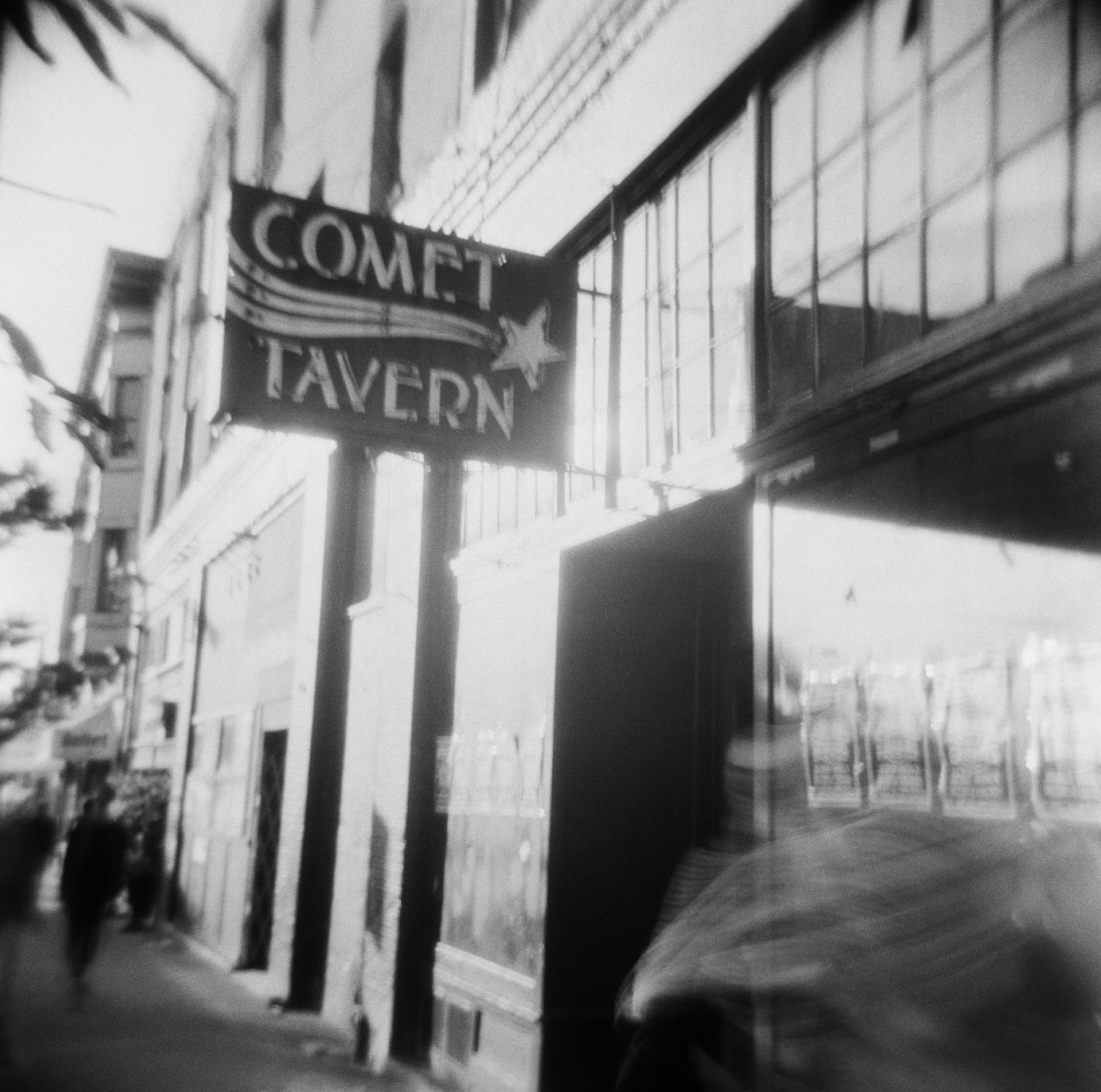 Comet Tavern with Ghost
