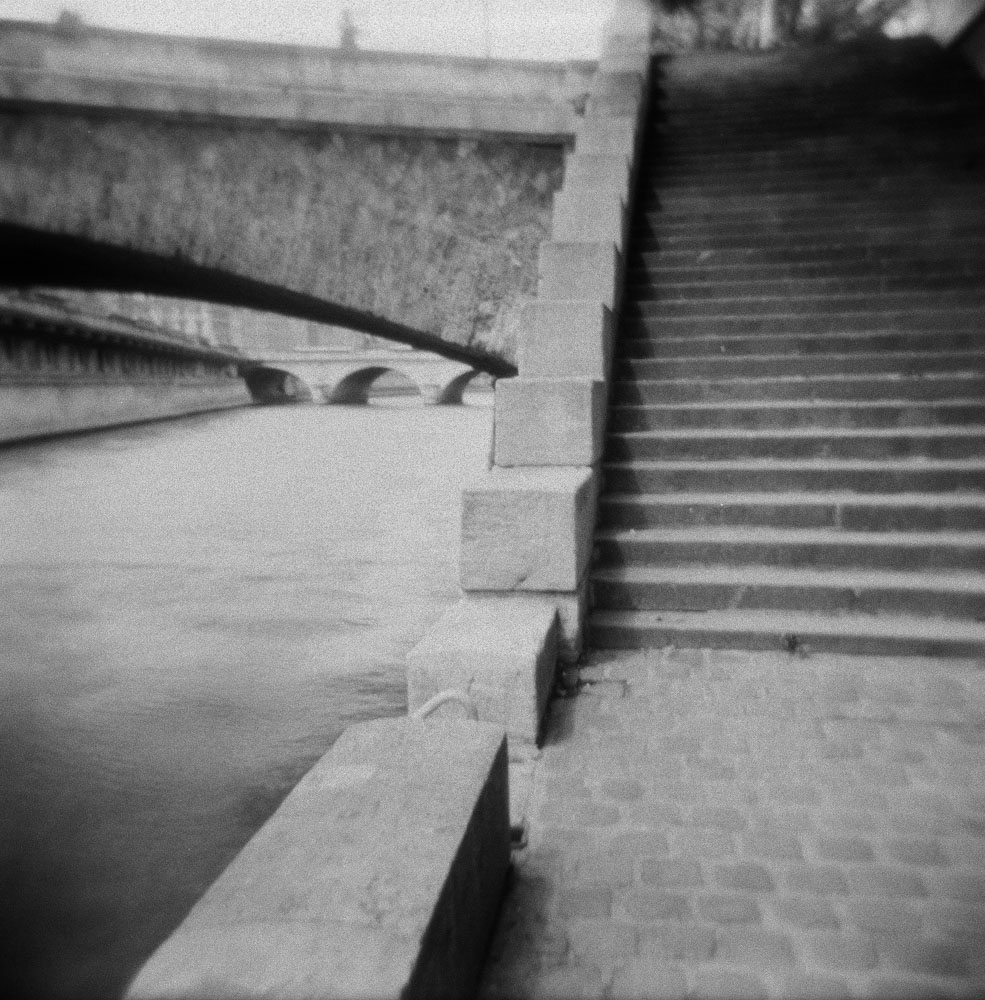 Stairs by the Seine